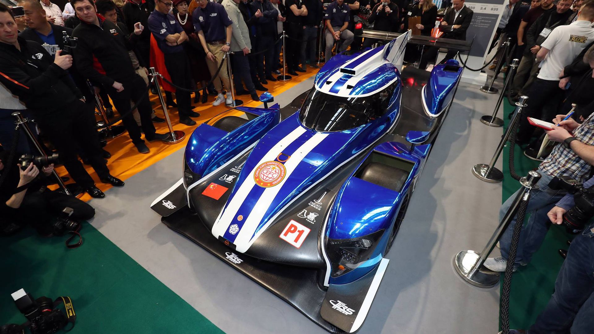 2018/2019 Ginetta G60-LT-P1 LMP1 race car
