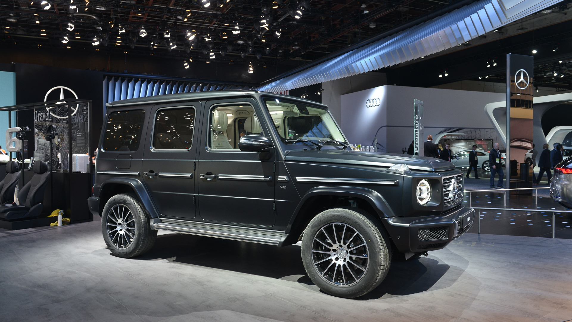 2019 Mercedes Benz G Cl Tried True And All New