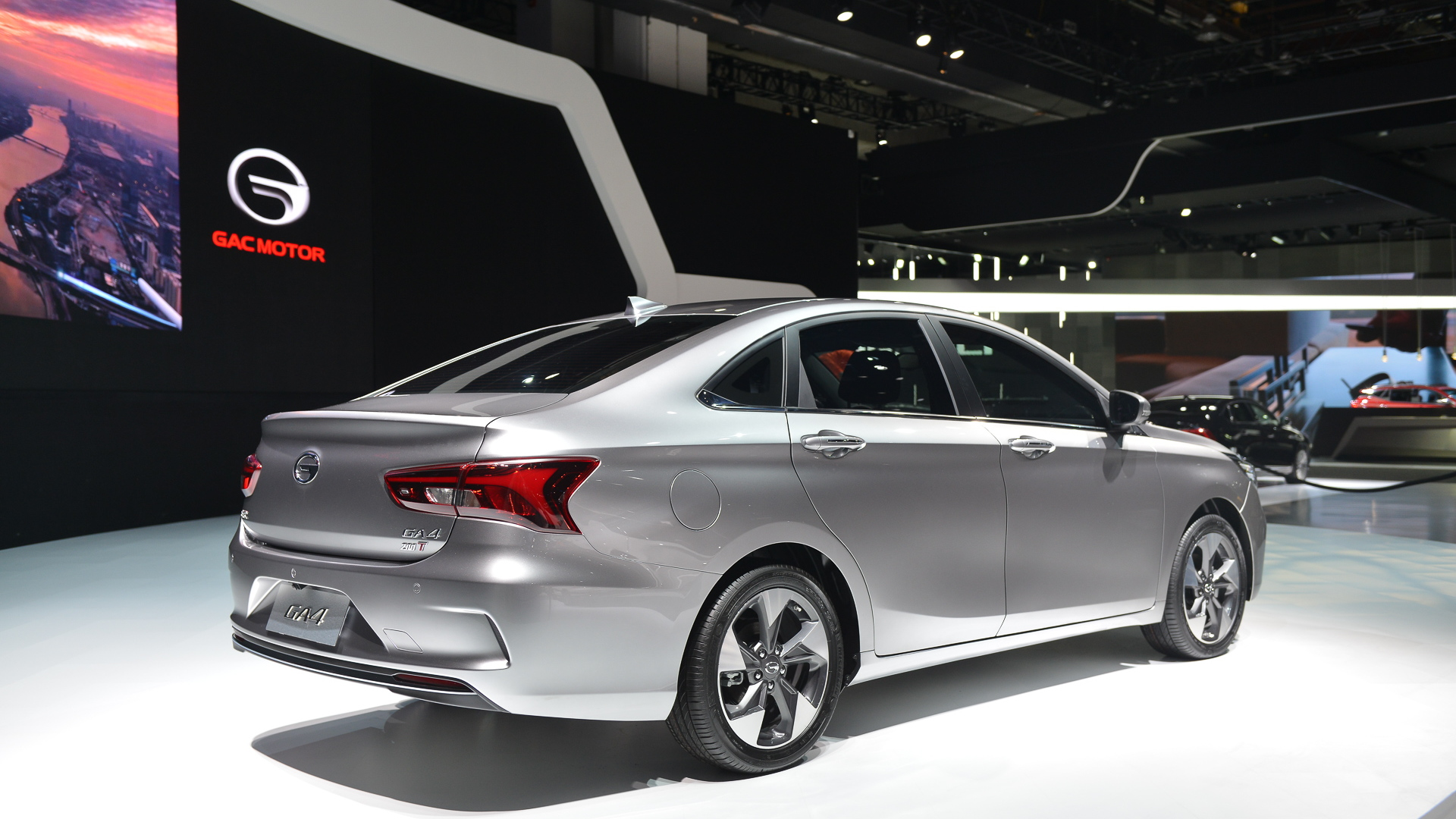 GAC GA4, 2018 Detroit auto show