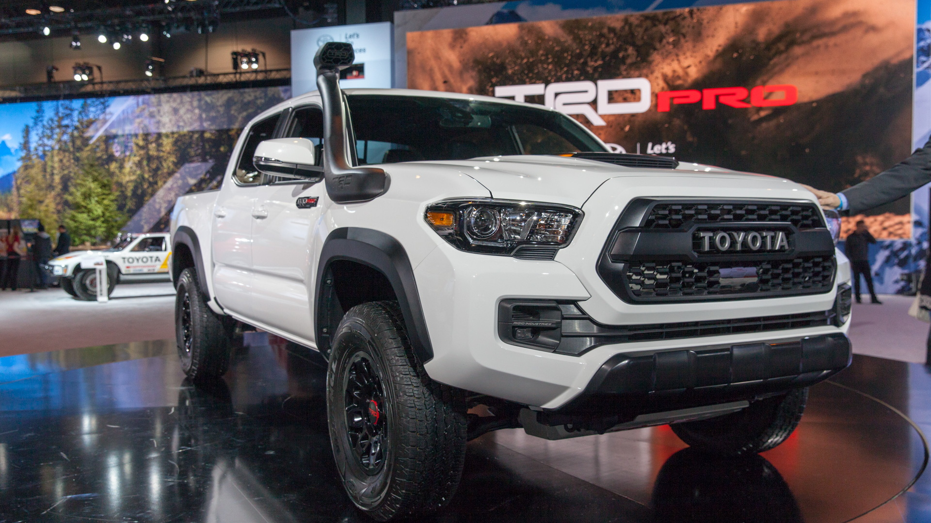 2019 Toyota Trd Pro Off Road Lineup Debuts In Chicago