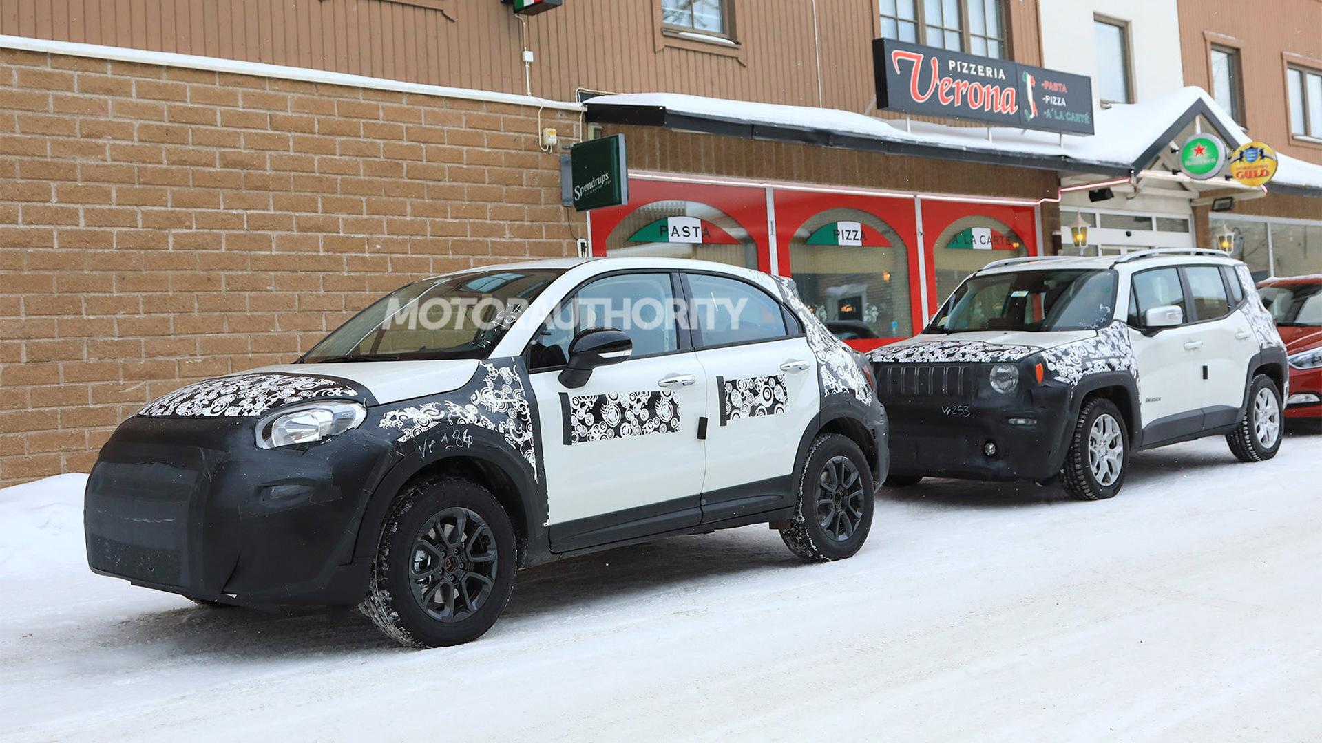 2019 Fiat 500X spy shots - Image via S. Baldauf/SB-Medien