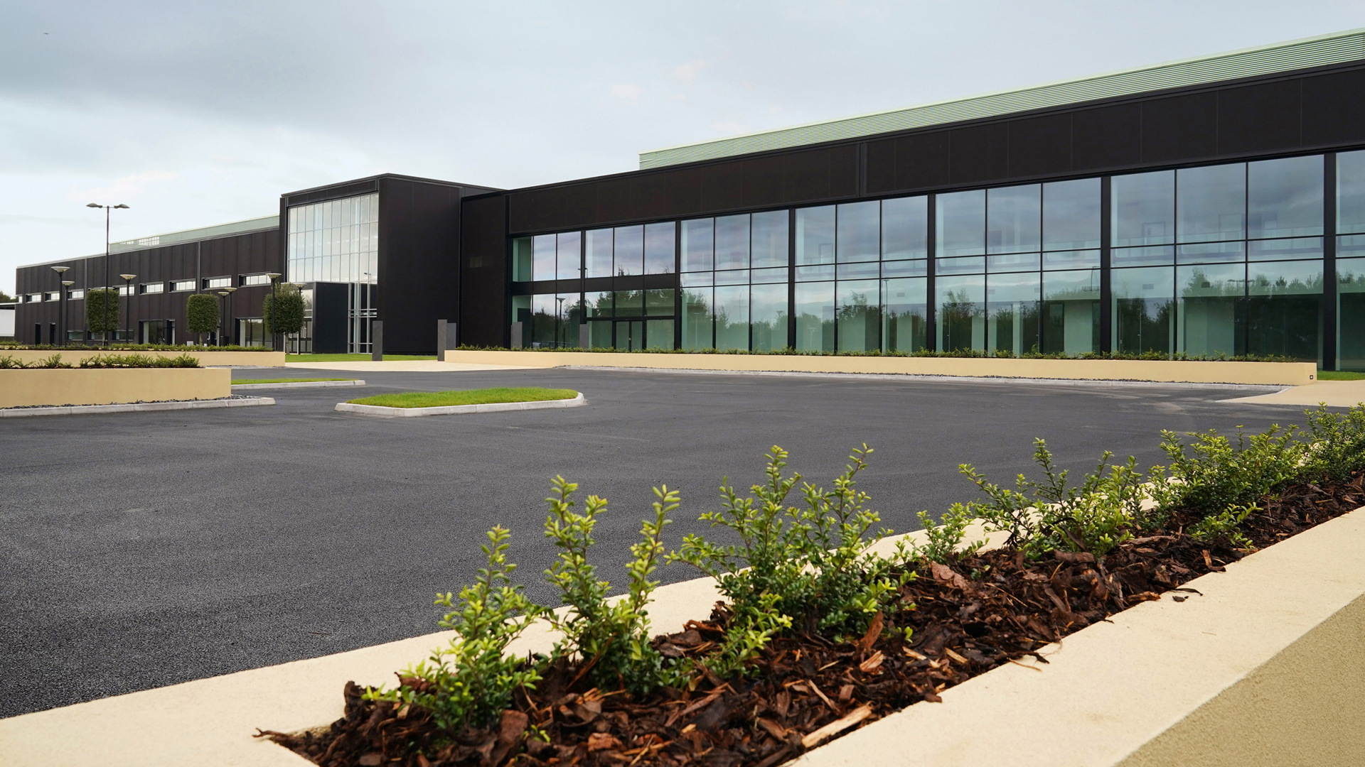 Aston Martin plant in St Athan, Wales