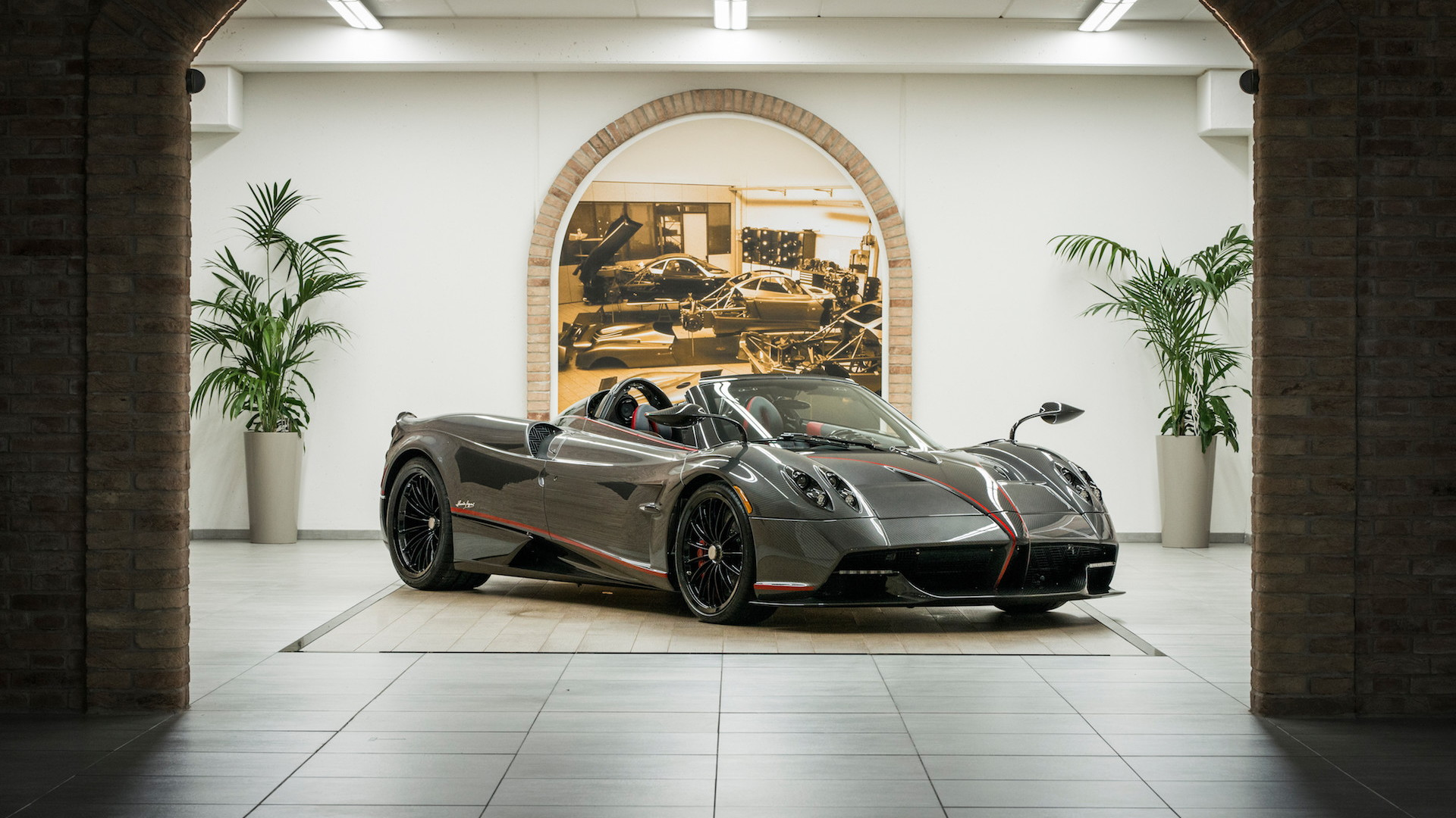 Pagani Huayra Roadster with soft top