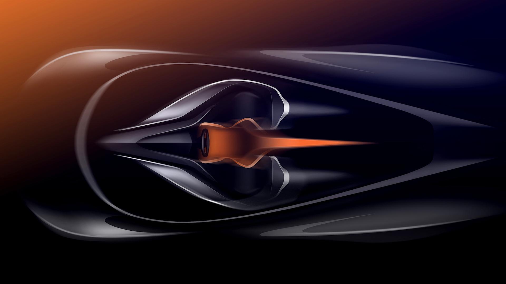 Teaser for McLaren Speedtail debuting October 26