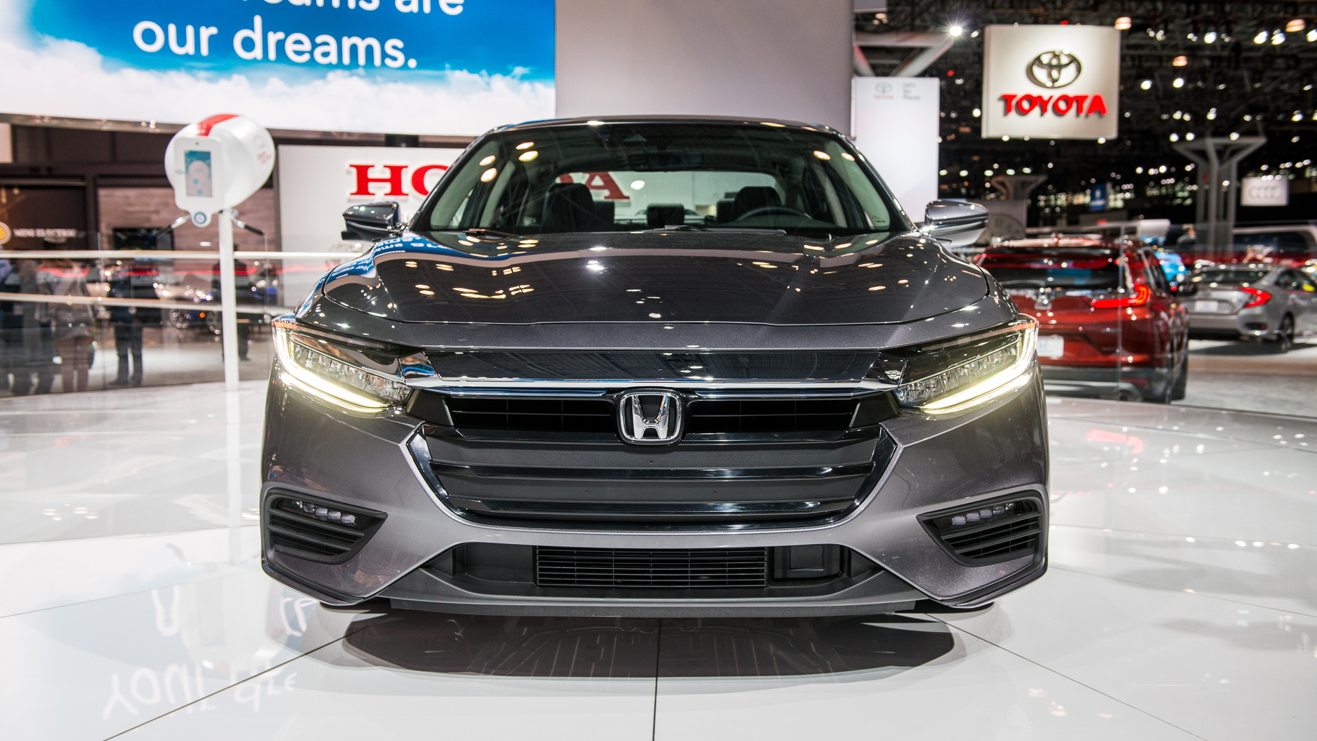 2019 Honda Insight, 2018 New York auto show