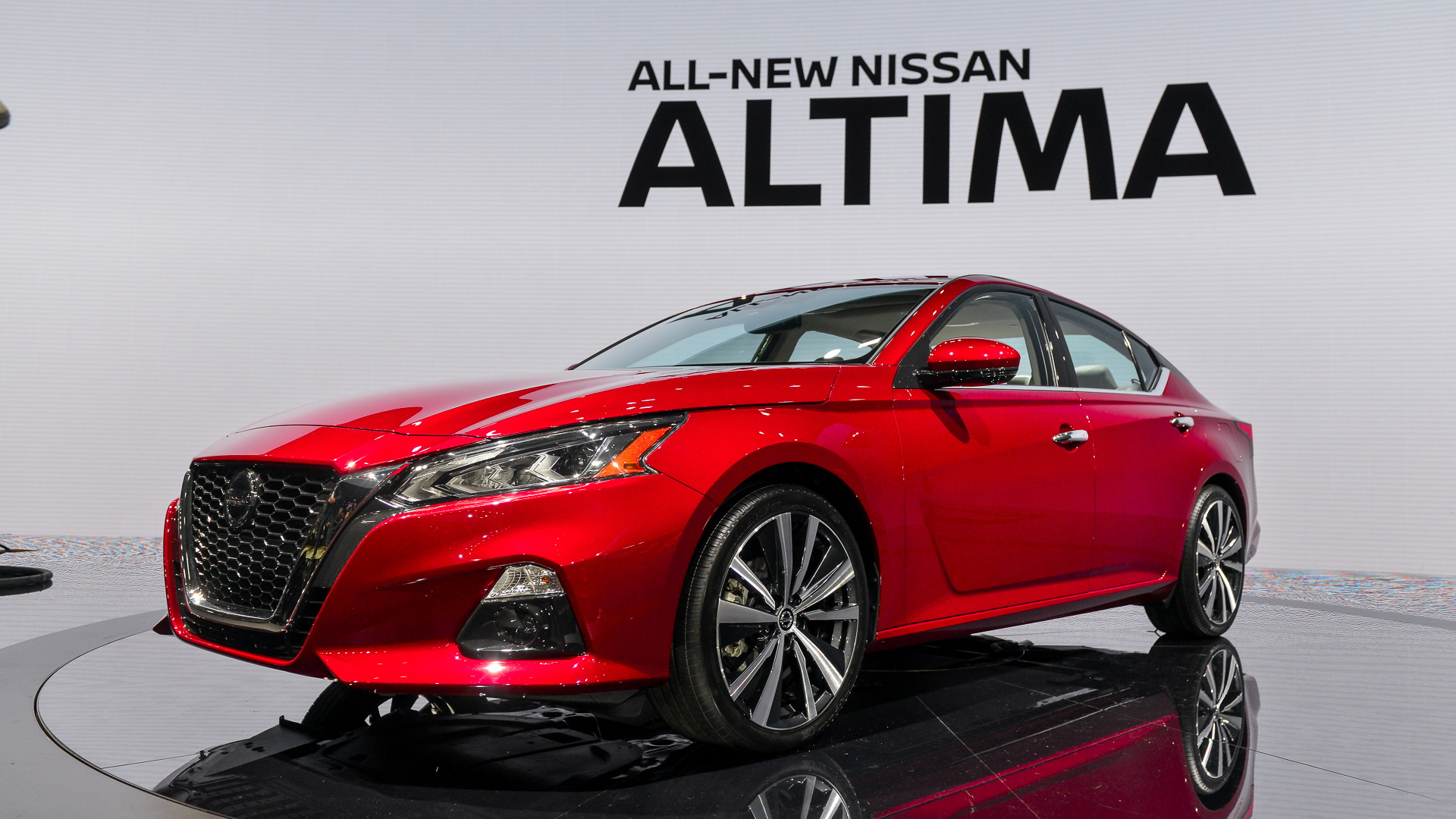 2019 Nissan Altima, 2018 New York auto show