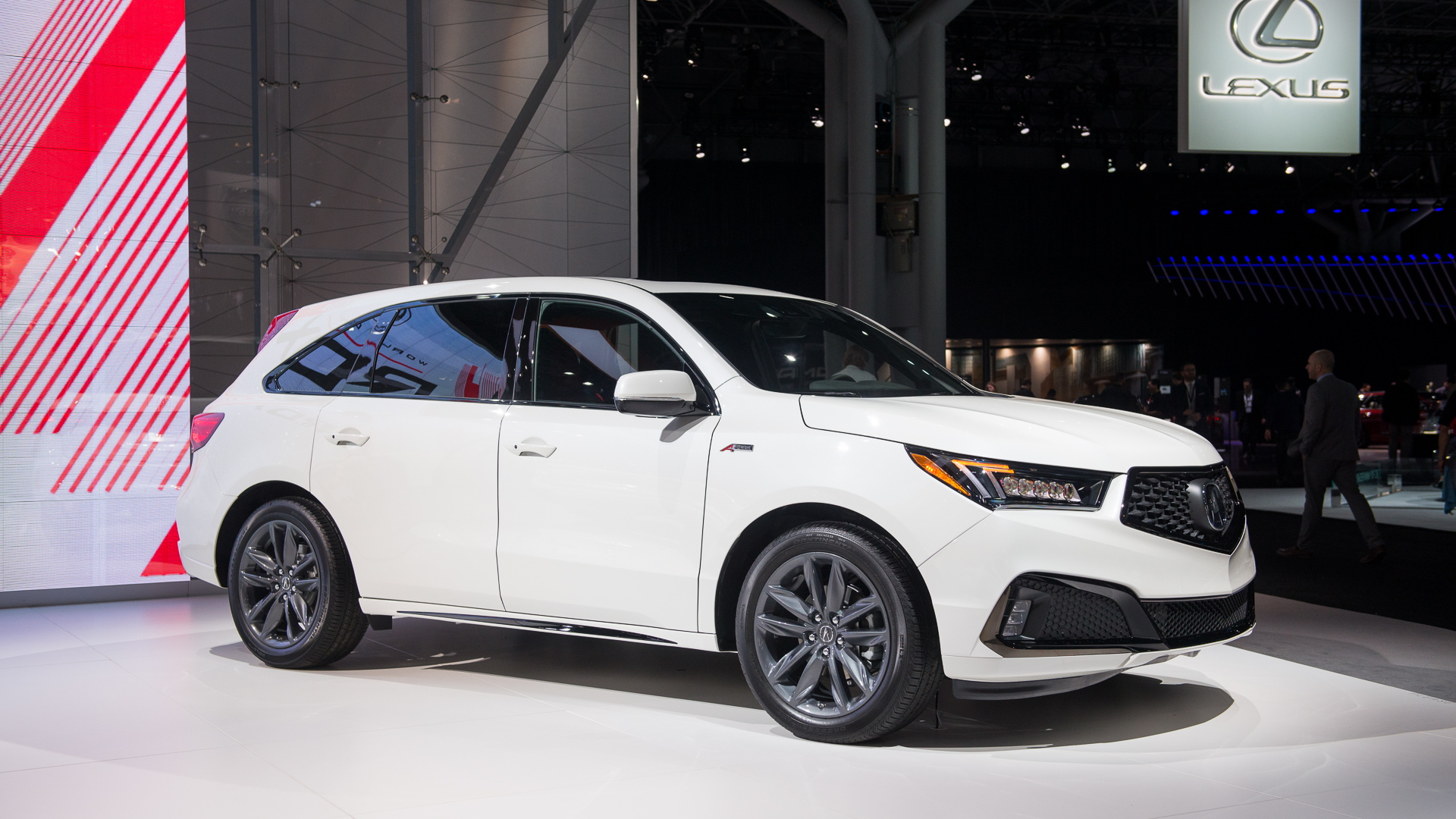 2019 Acura MDX A-Spec, 2018 New York auto show