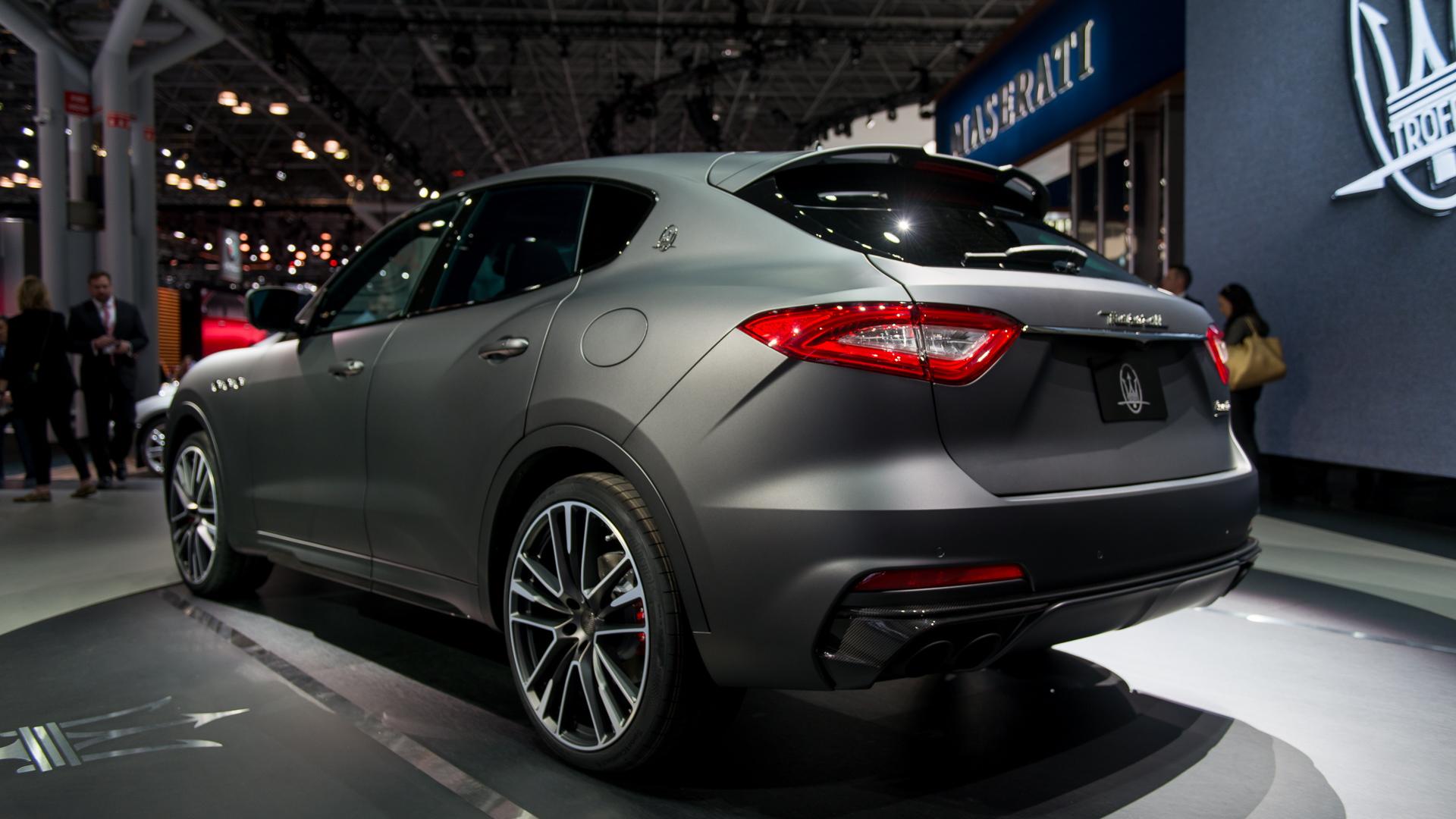 2019 Maserati Levante Trofeo, 2018 New York auto show