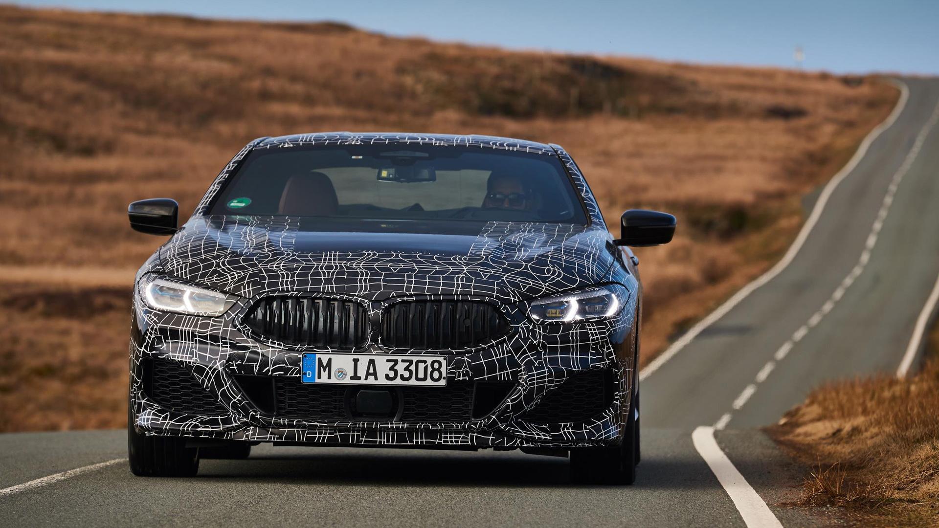 2020 BMW 8-Series (M850i xDrive) prototype