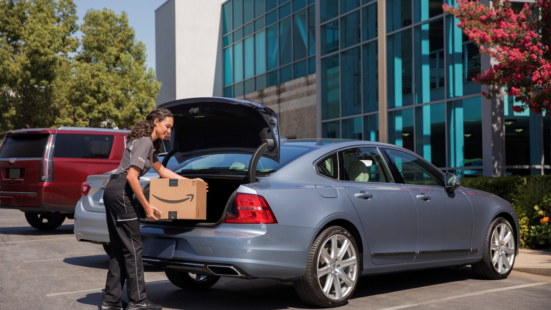 Amazon In-Car Delivery Option