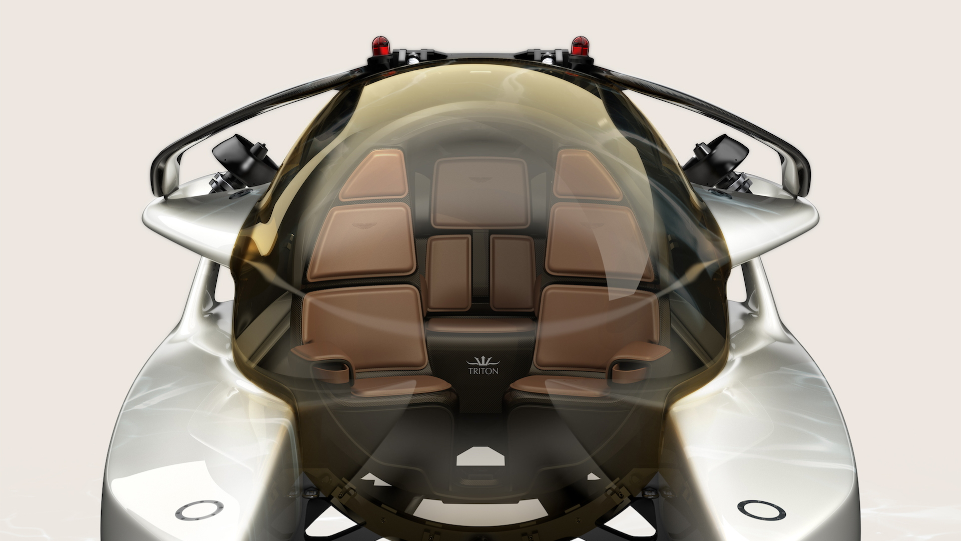Aston Martin and Triton's Project Neptune submersible