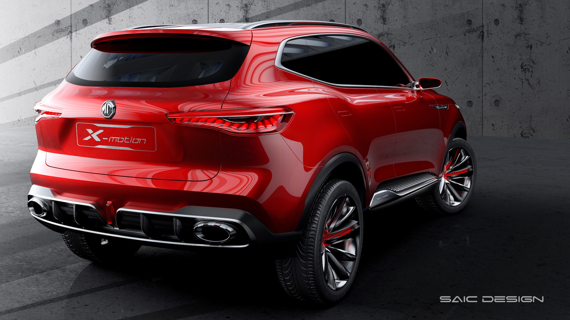 MG X-Motion SUV concept