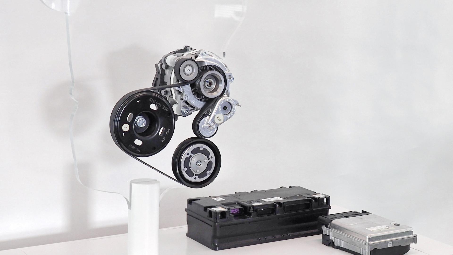 Volkswagen 48-volt mild-hybrid system