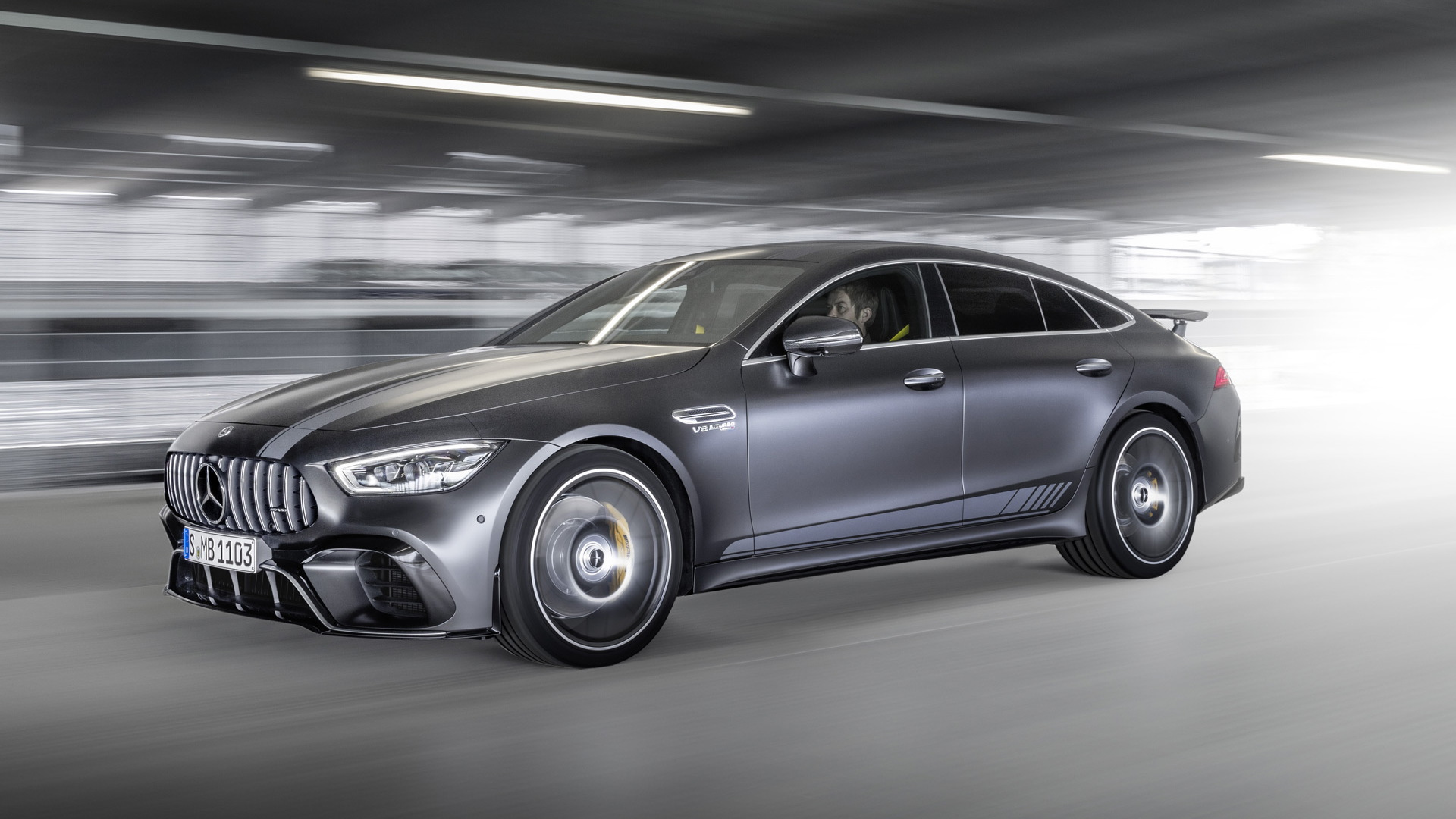 2019 Mercedes-AMG GT 4-Door Coupe 63 S Edition 1