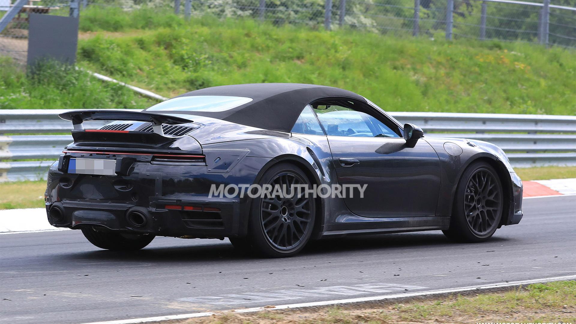 2020 Porsche 911 Turbo Cabriolet Spy Shots And Video