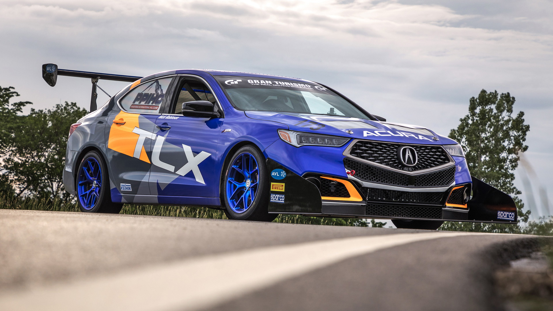 2018 Acura TLX A-Spec ready for 2018 Pikes Peak International Hill Climb