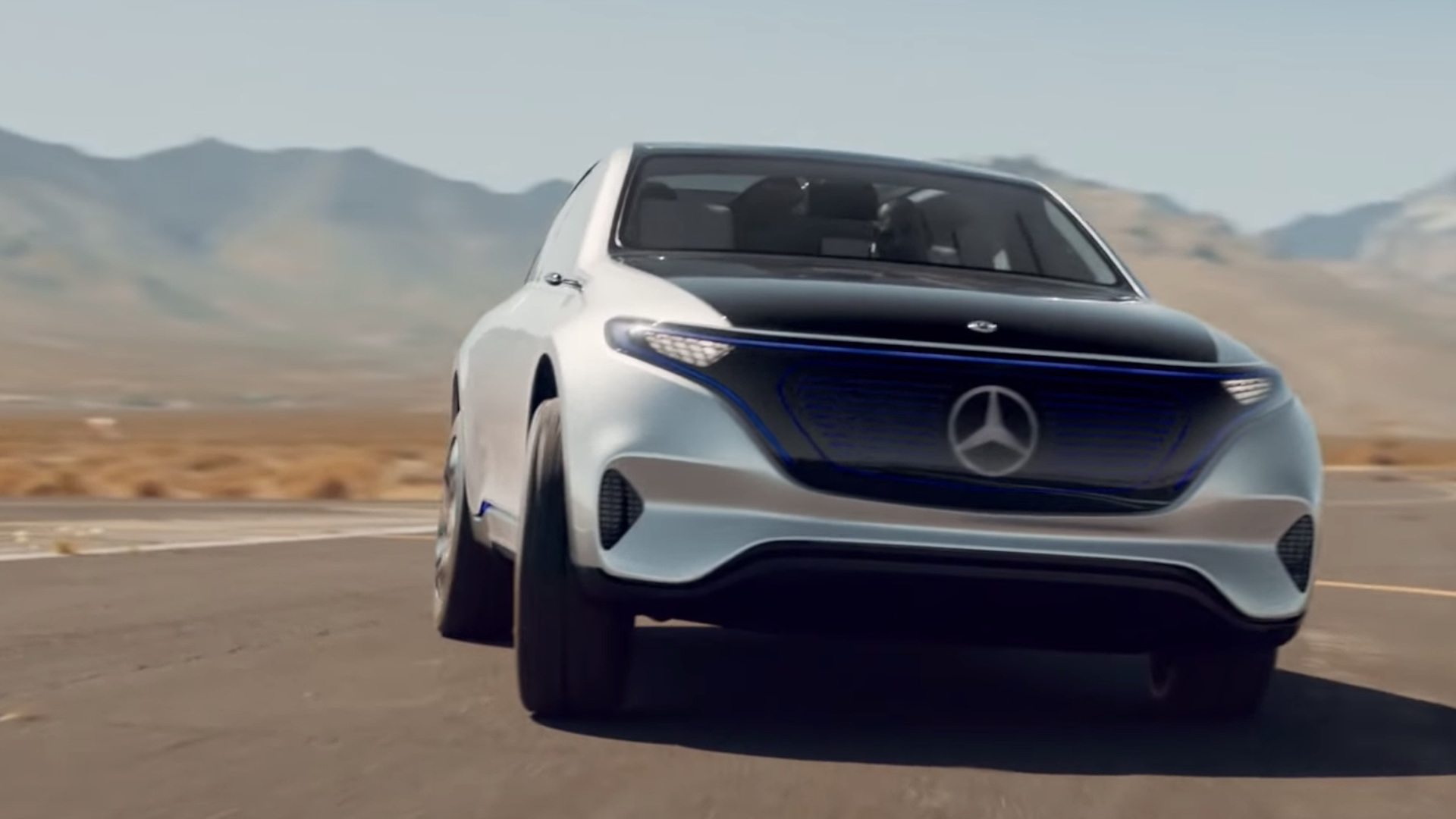 Mercedes-Benz Generation EQ in video ad