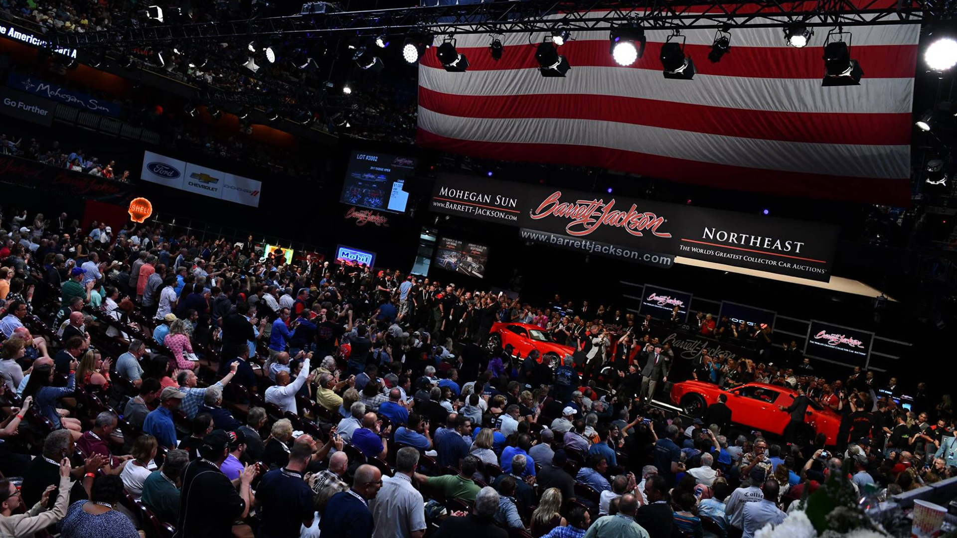 Auction of the final 2017 Dodge Viper and 2018 Dodge Challenger SRT Demon on June 23, 2018