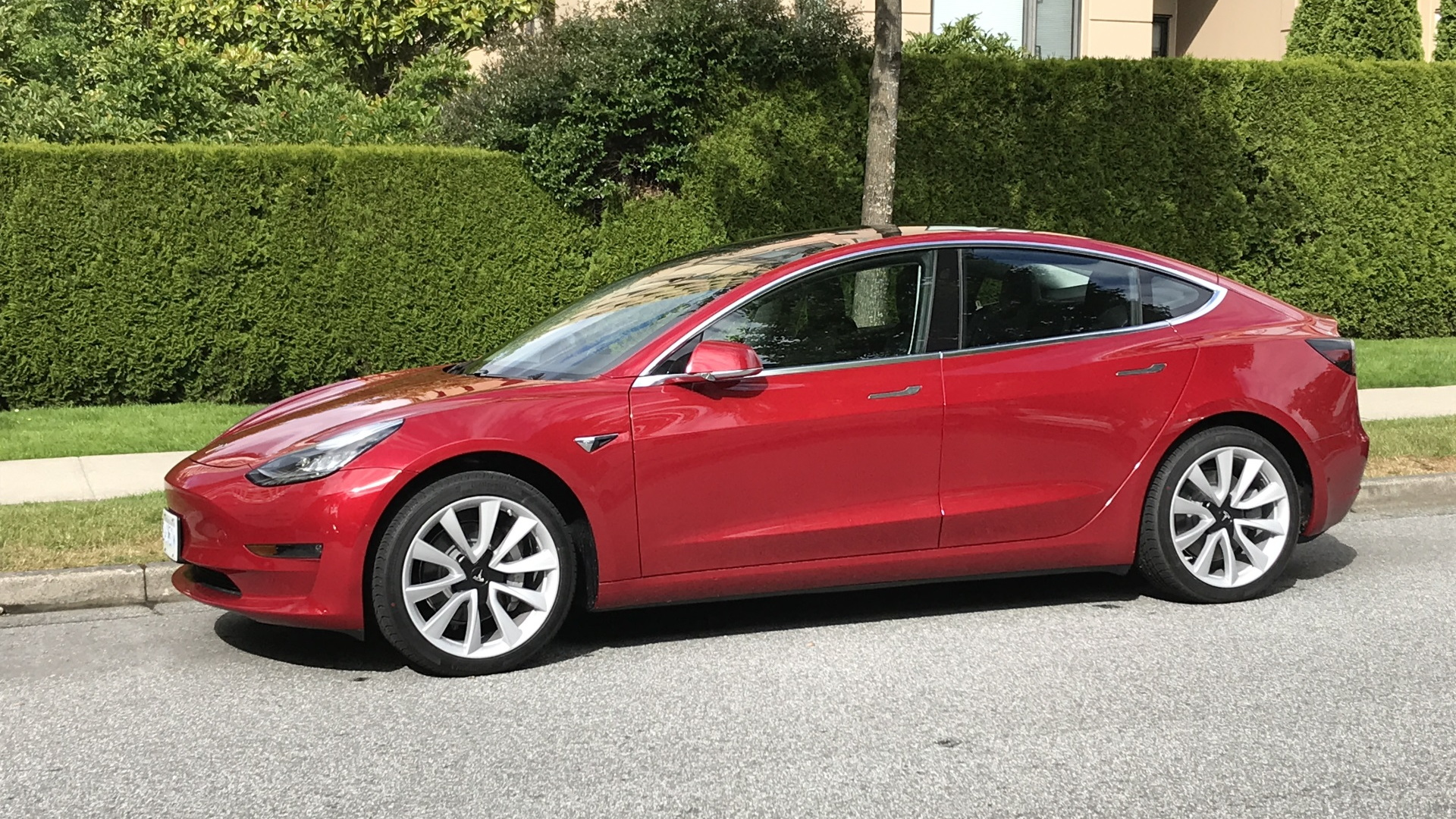 Tesla Model 3 bought [Photo by reader AH]