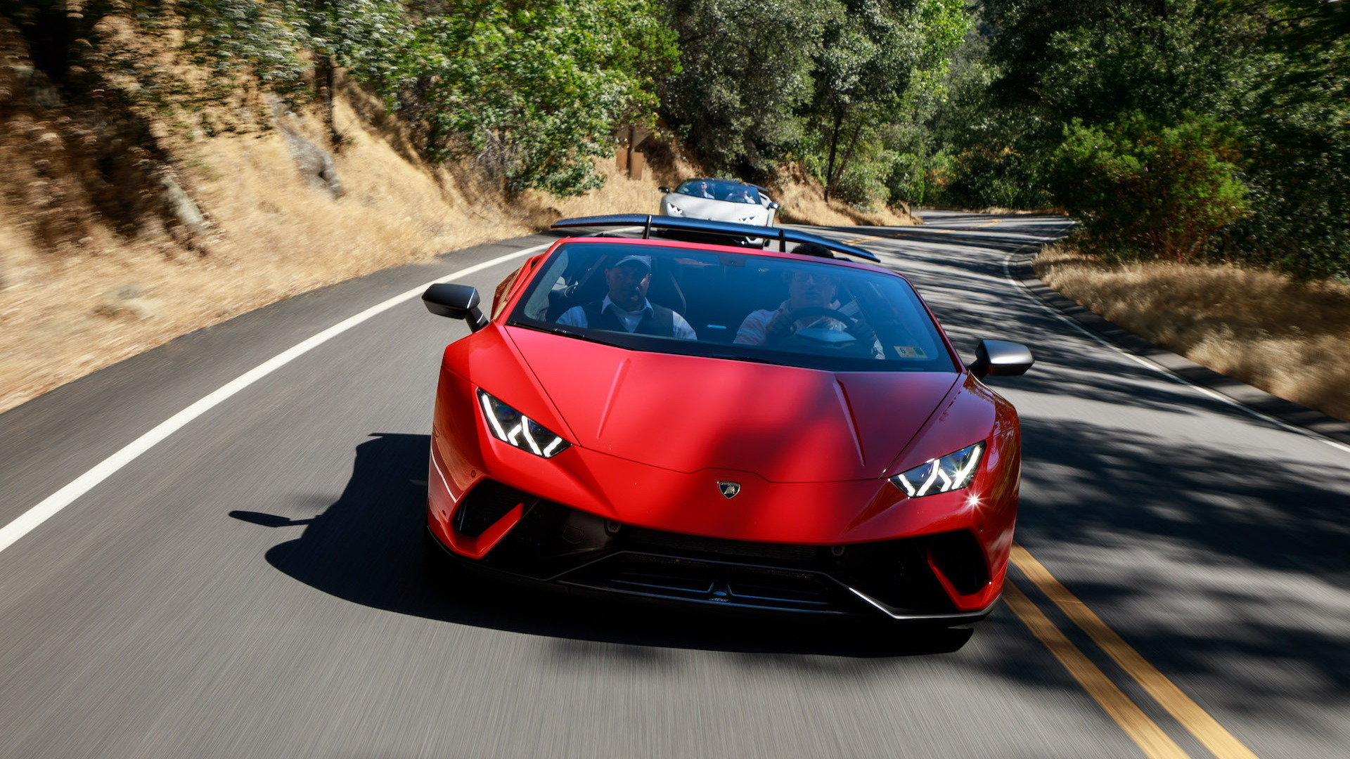 2018 Lamborghini Huracan Performante First Drive Review Admission
