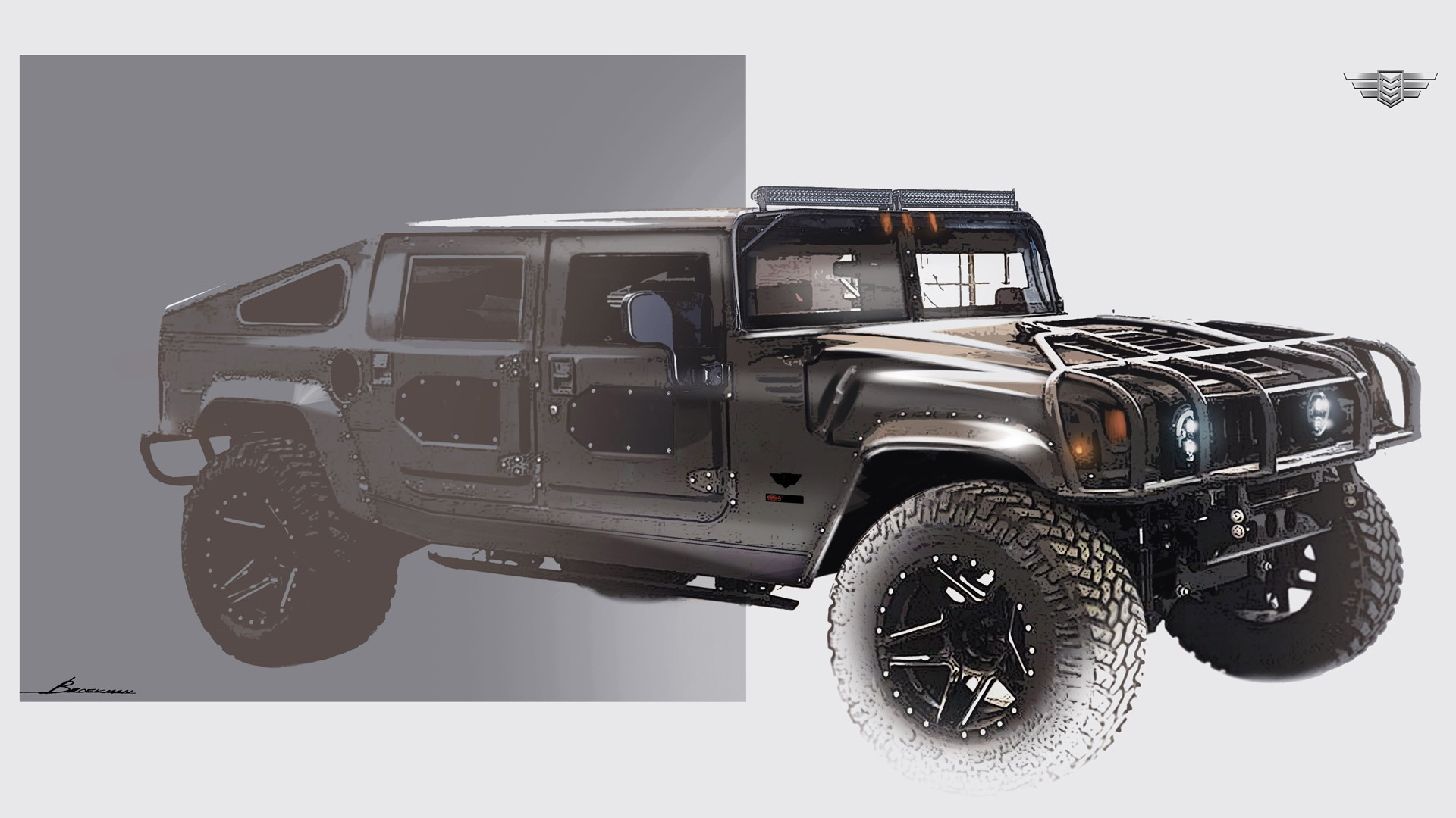 Teaser for Mil-Spec Launch Edition #002 Hummer H1