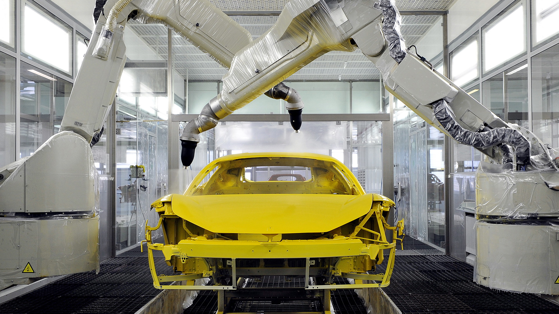 Ferrari factory in Maranello, Italy