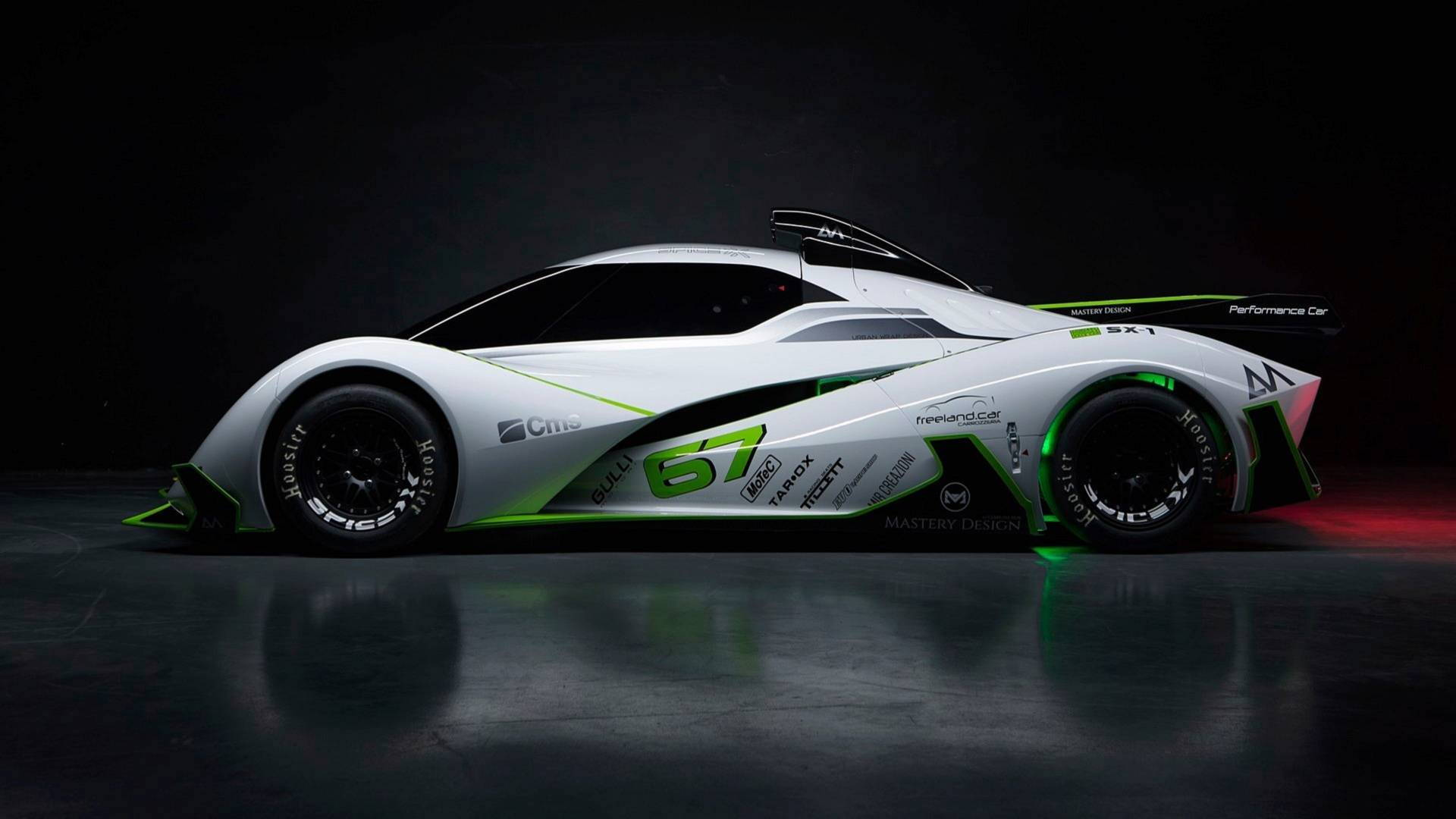 Spice-X SX1 affordable electric race car