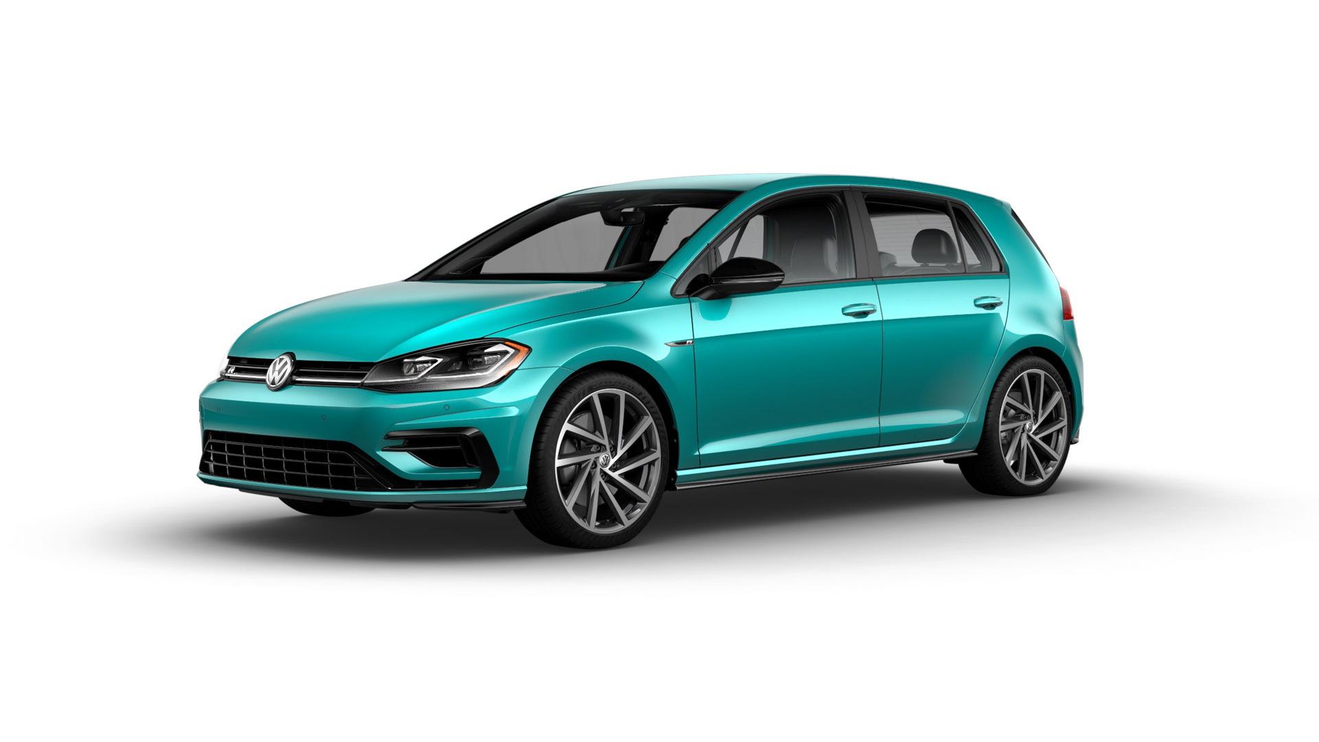 2019 Volkswagen Golf R featuring custom color from Spektrum Program