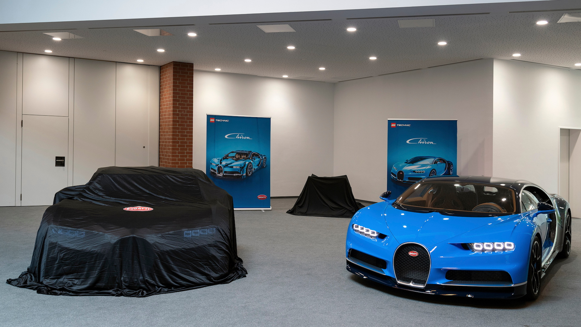 Bugatti Chiron Lego Technic life-size model