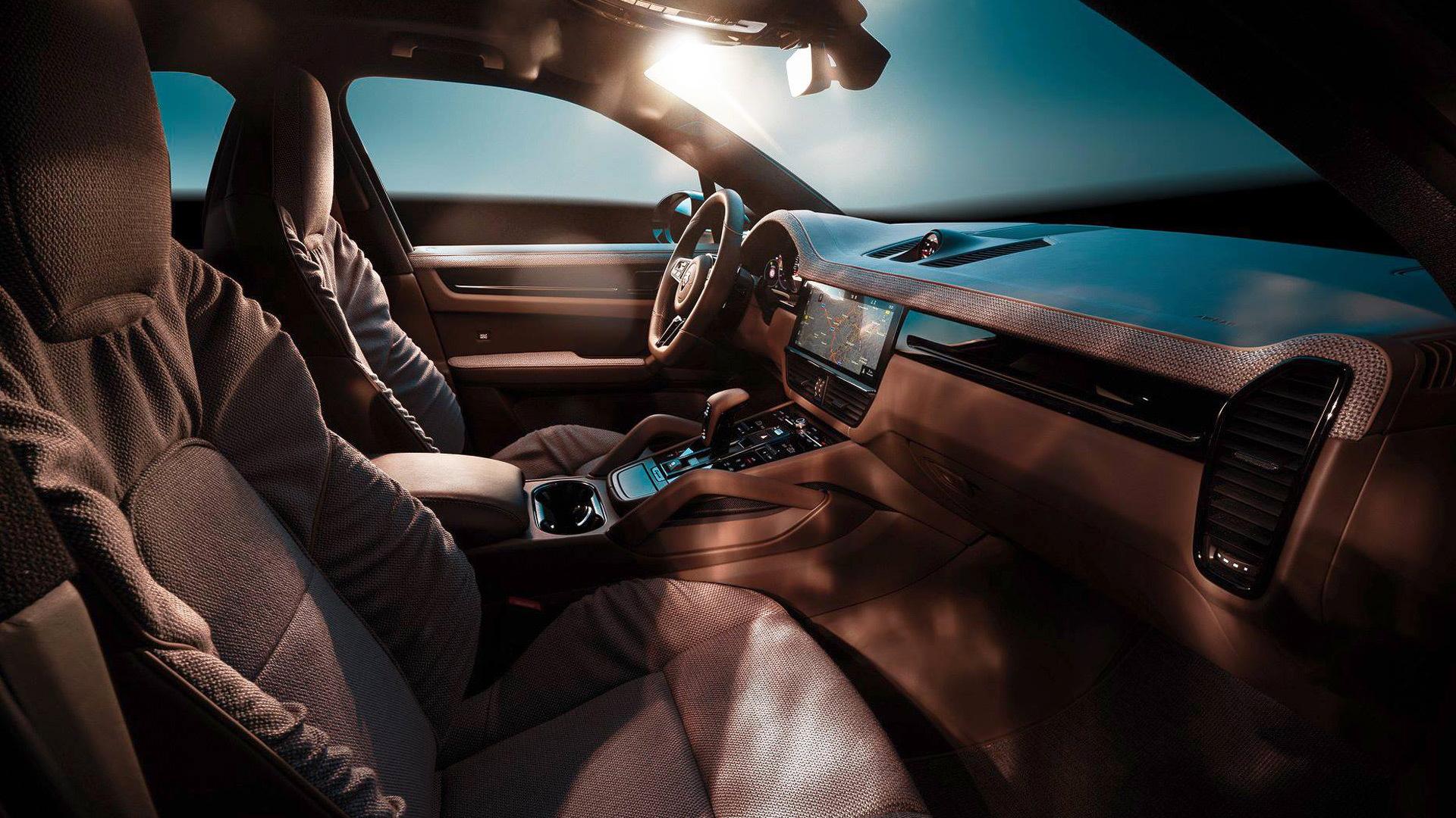 2019 TechArt Porsche Cayenne with Rolf Benz interior