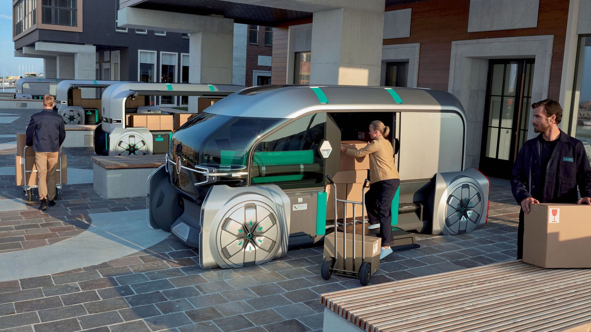 Renault EZ-Pro self-driving delivery vehicle concept