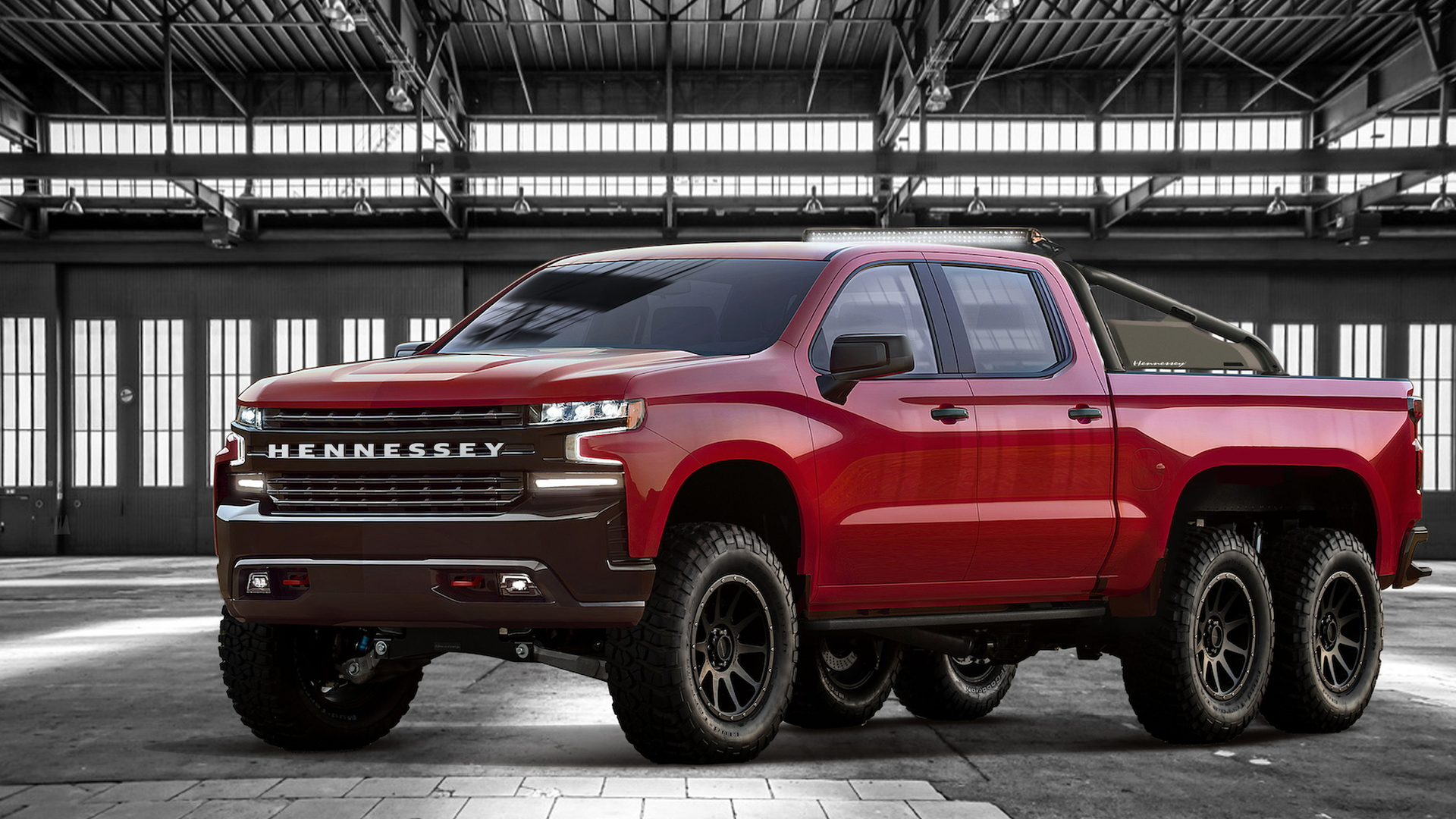 Chevy Silverado Based Hennessey Goliath 6x6 Revealed With 705 Horsepower