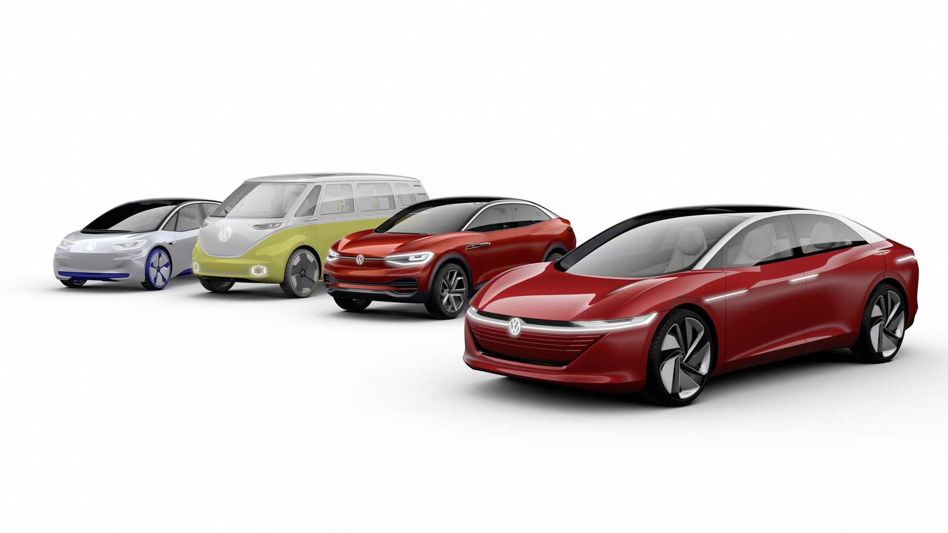 Volkswagen MEB platform architecture