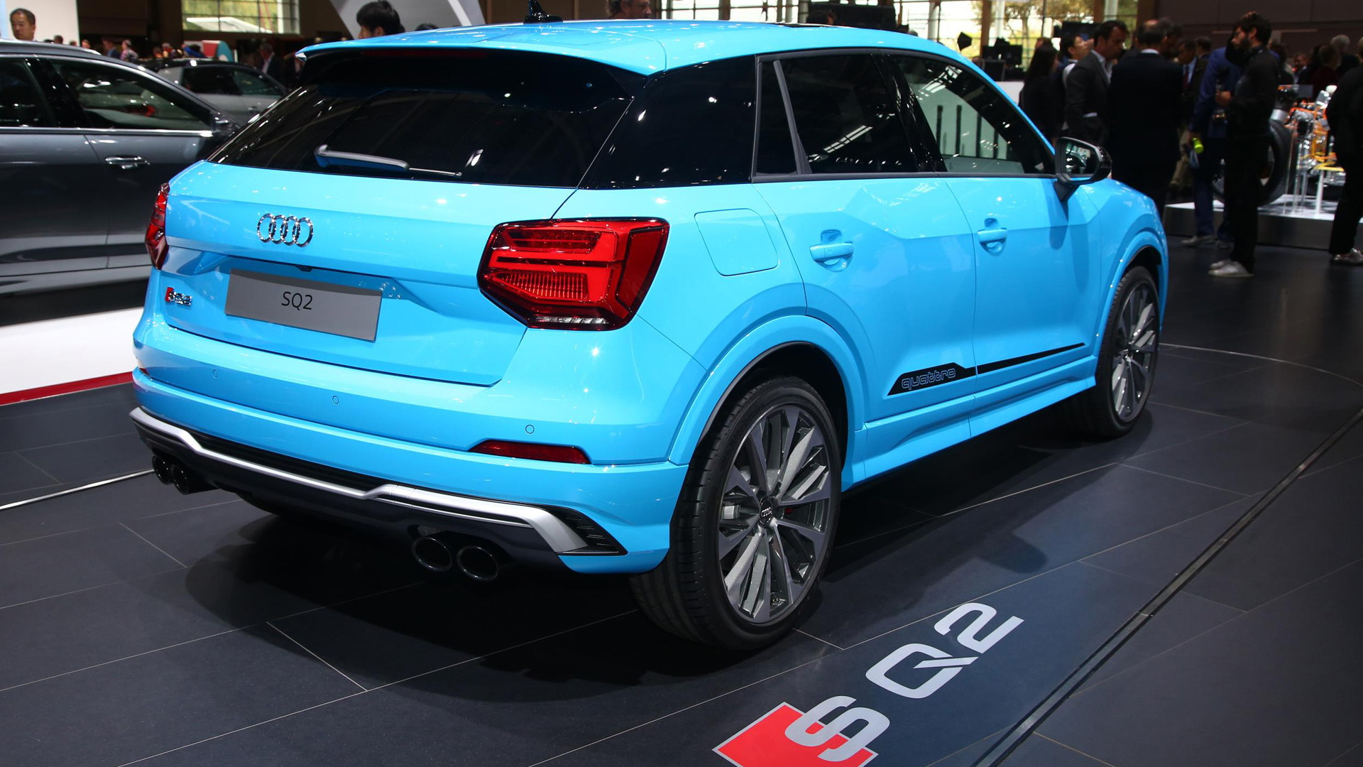 2019 Audi SQ2, 2018 Paris auto show