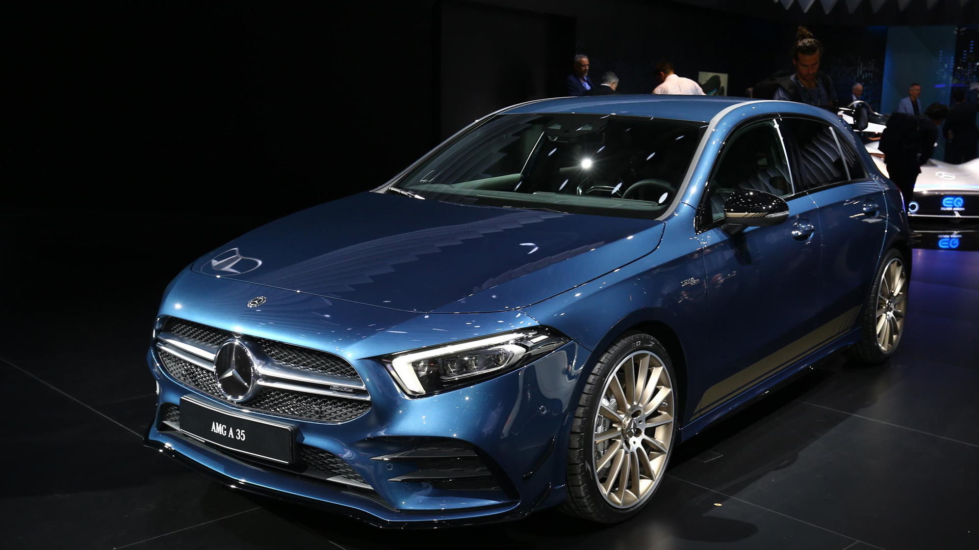2019 Mercedes-Benz AMG A35, 2018 Paris auto show
