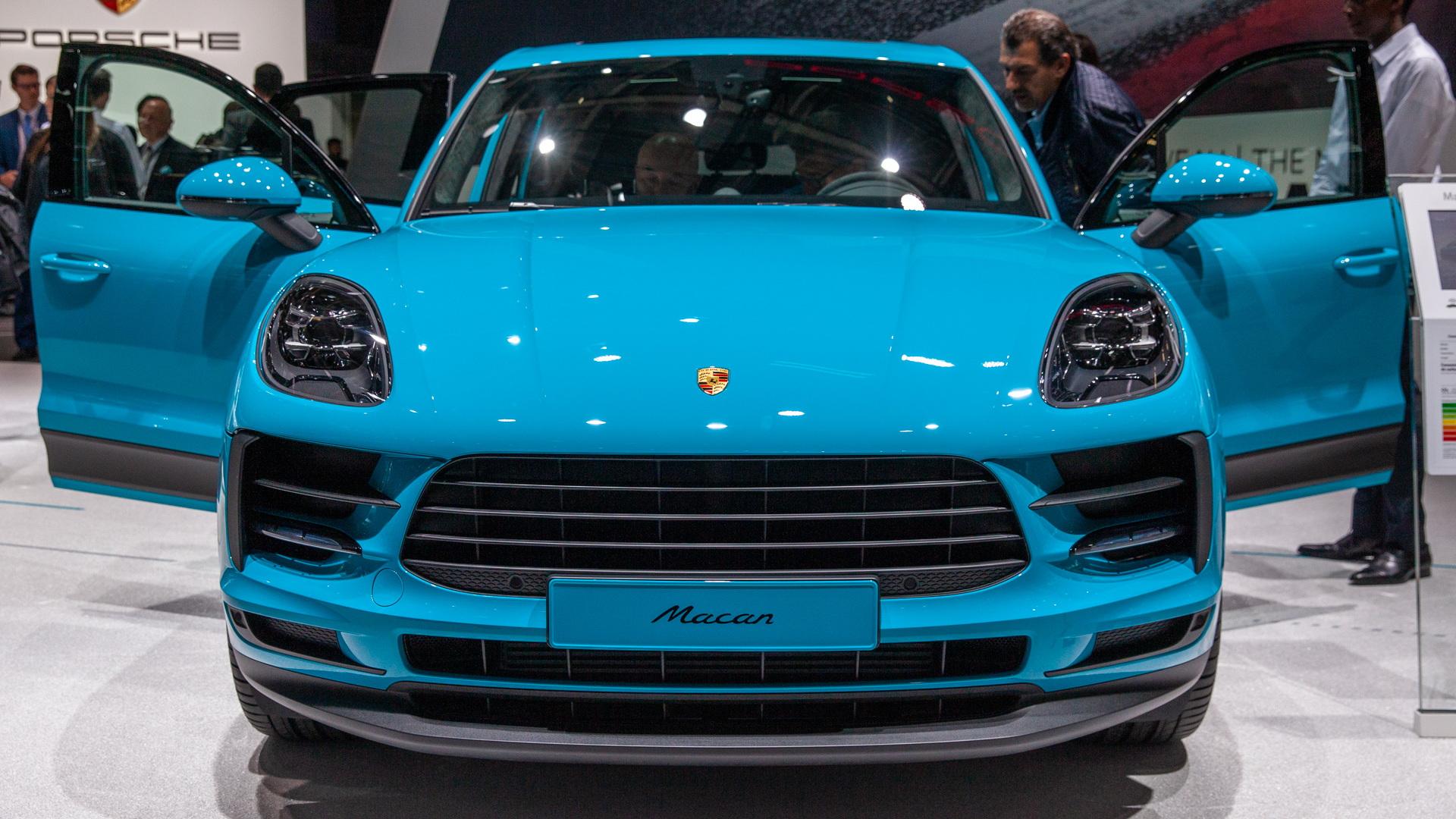 2019 Porsche Macan, 2018 Paris auto show