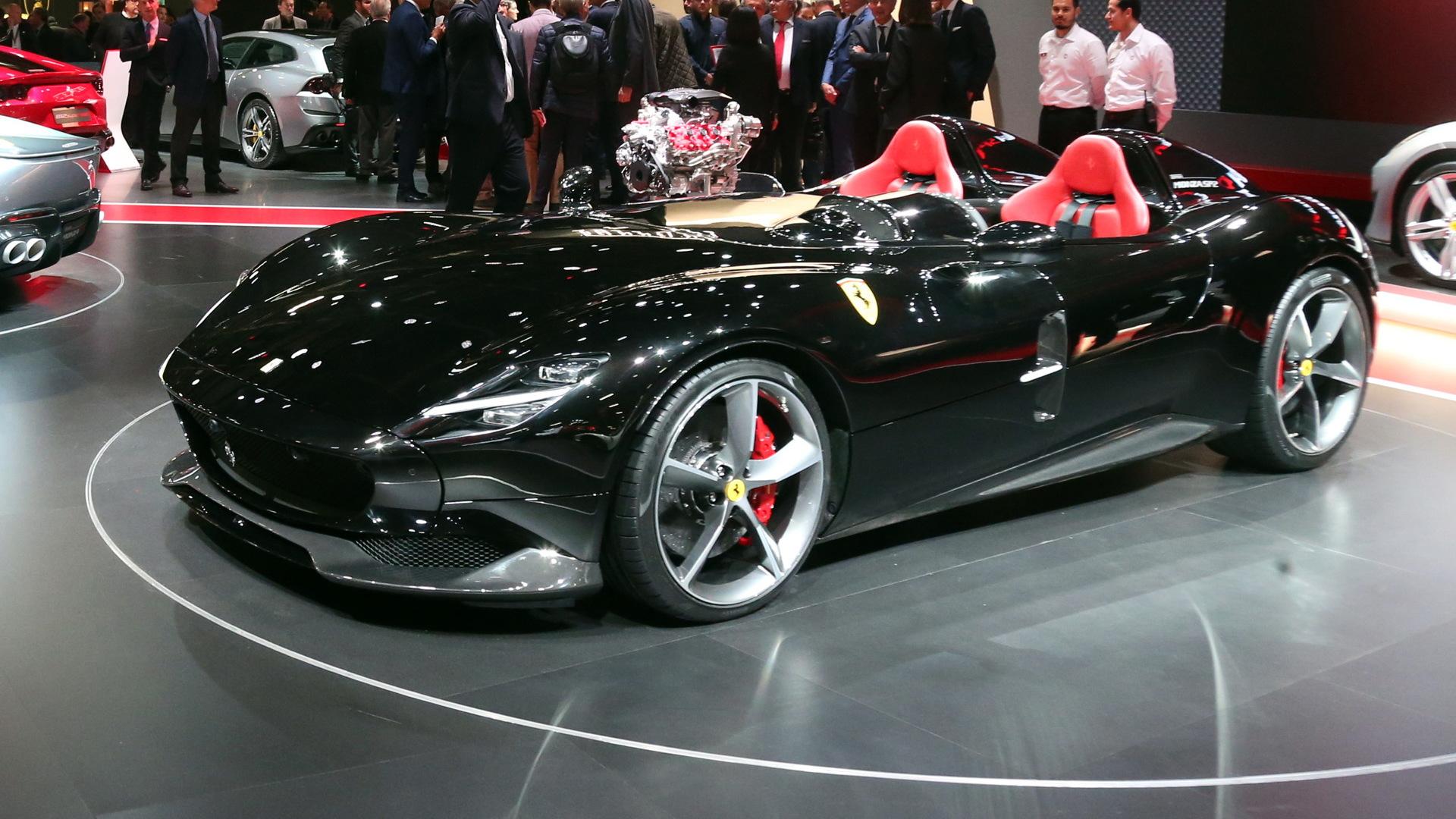 Ferrari Monza SP2, 2018 Paris auto show