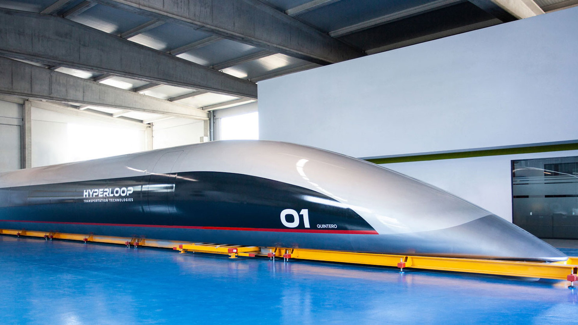 Hyperloop Transportation Technologies passenger pod