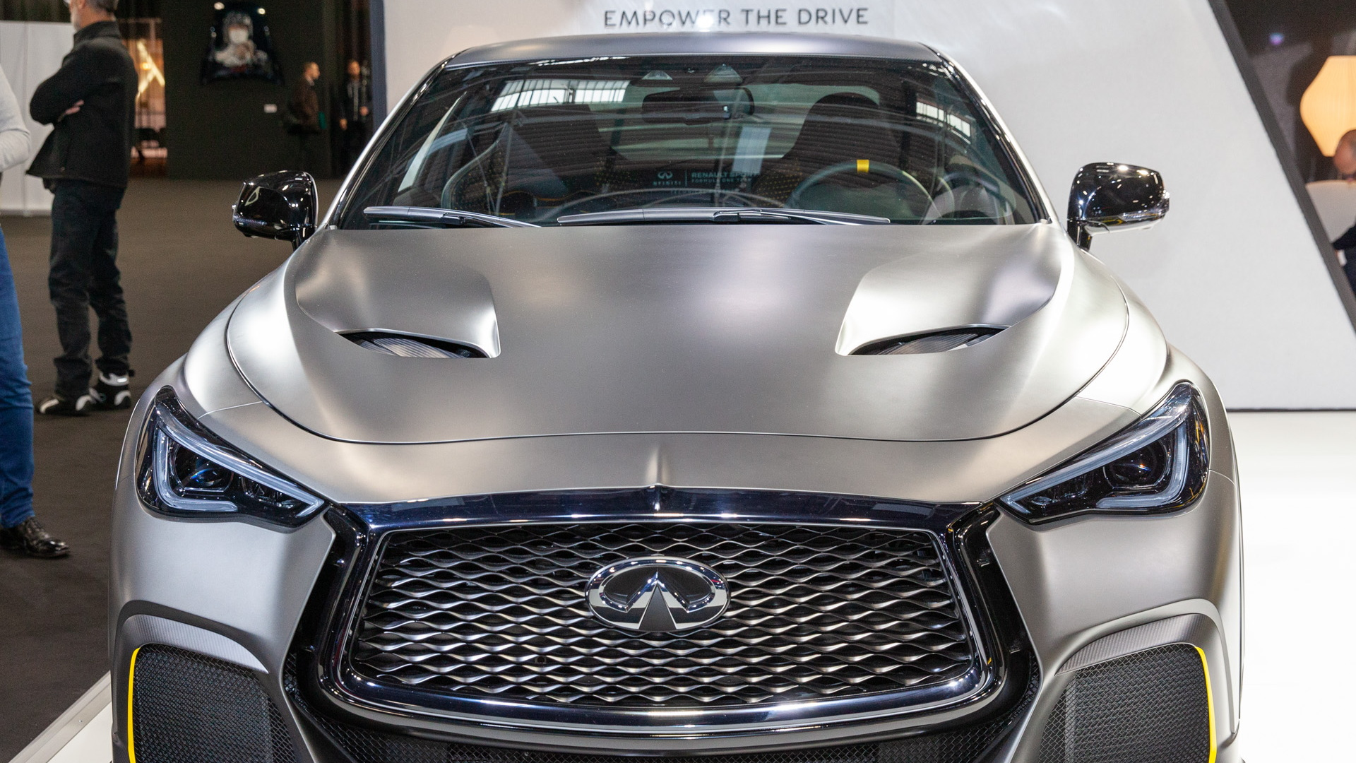 Infiniti Q60 Project Black S Concept, 2018 Paris auto show