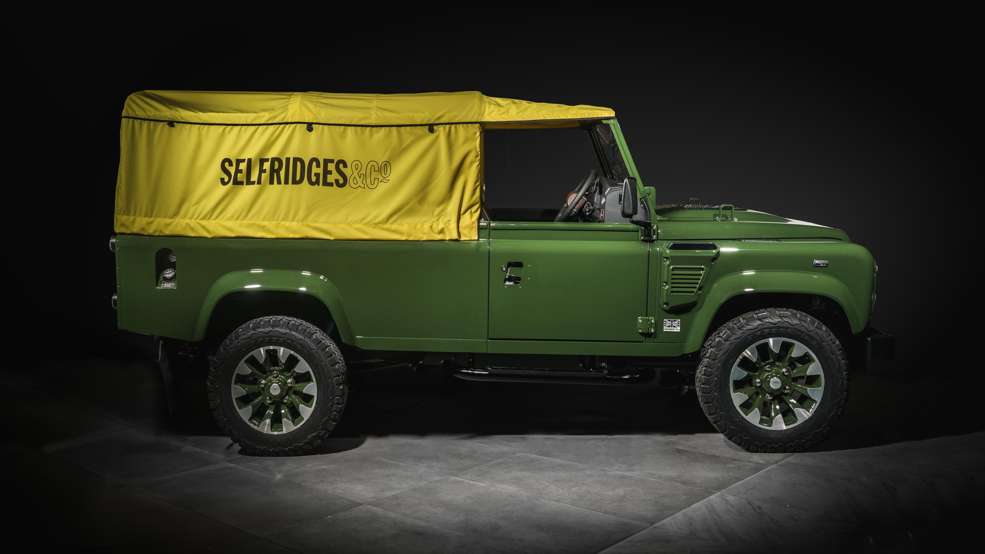 Selfridges Edition Land Rover Defender Works