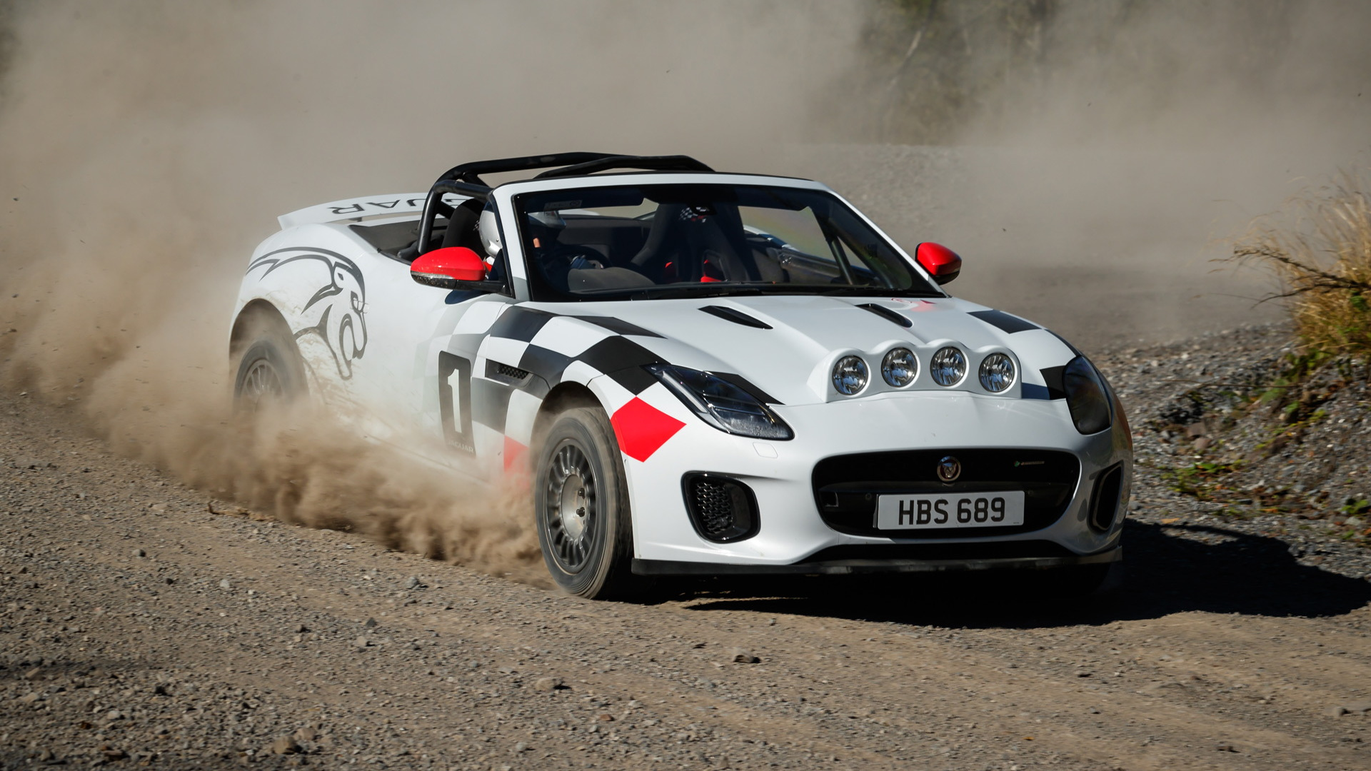 2018 Jaguar F-Type Convertible rally car