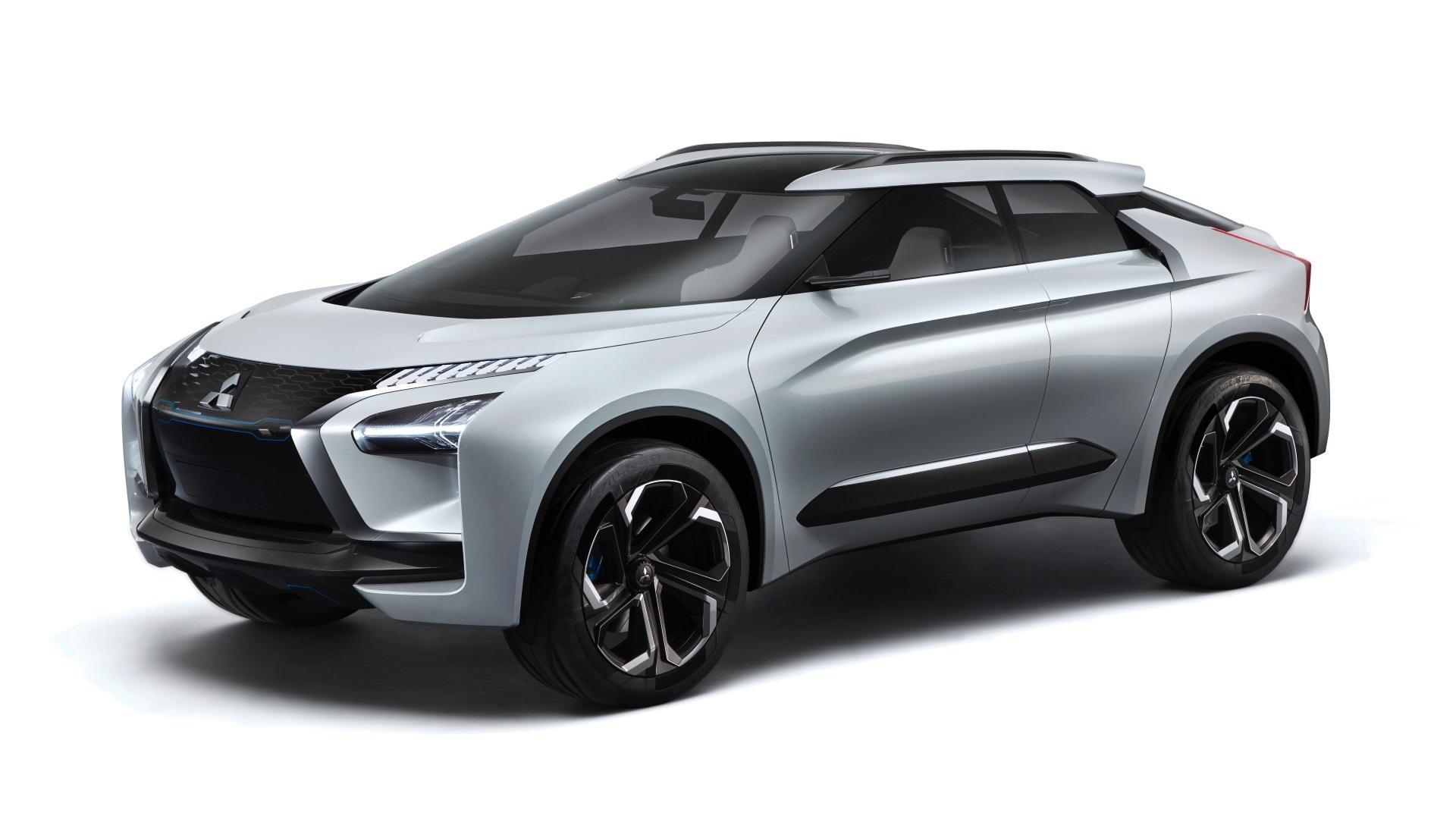 Mitsubishi e-Evolution concept, 2018 Los Angeles Auto Show