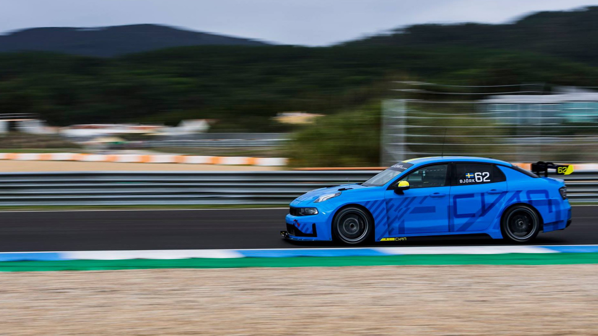 2019 Cyan Racing Lynk & Co. 03 TCR race car