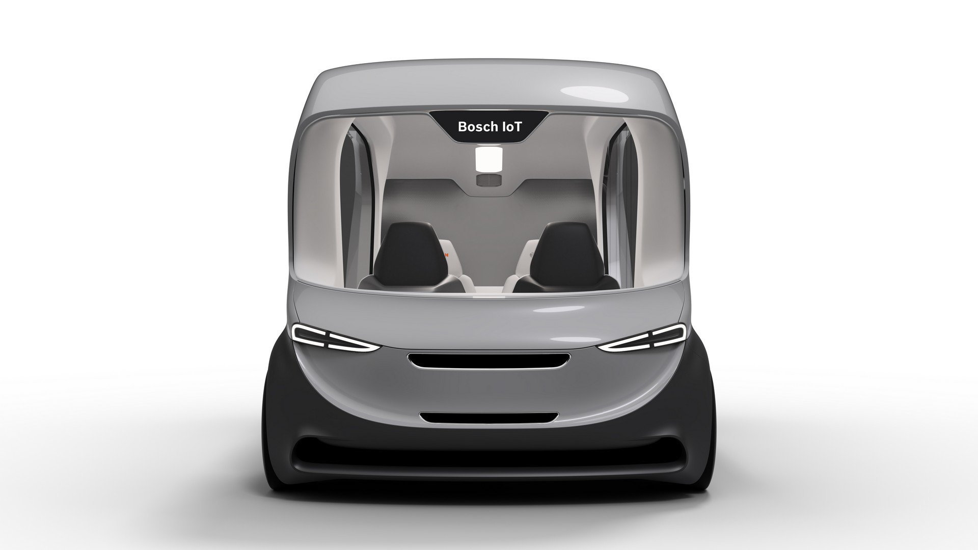Bosch self-driving shuttle concept