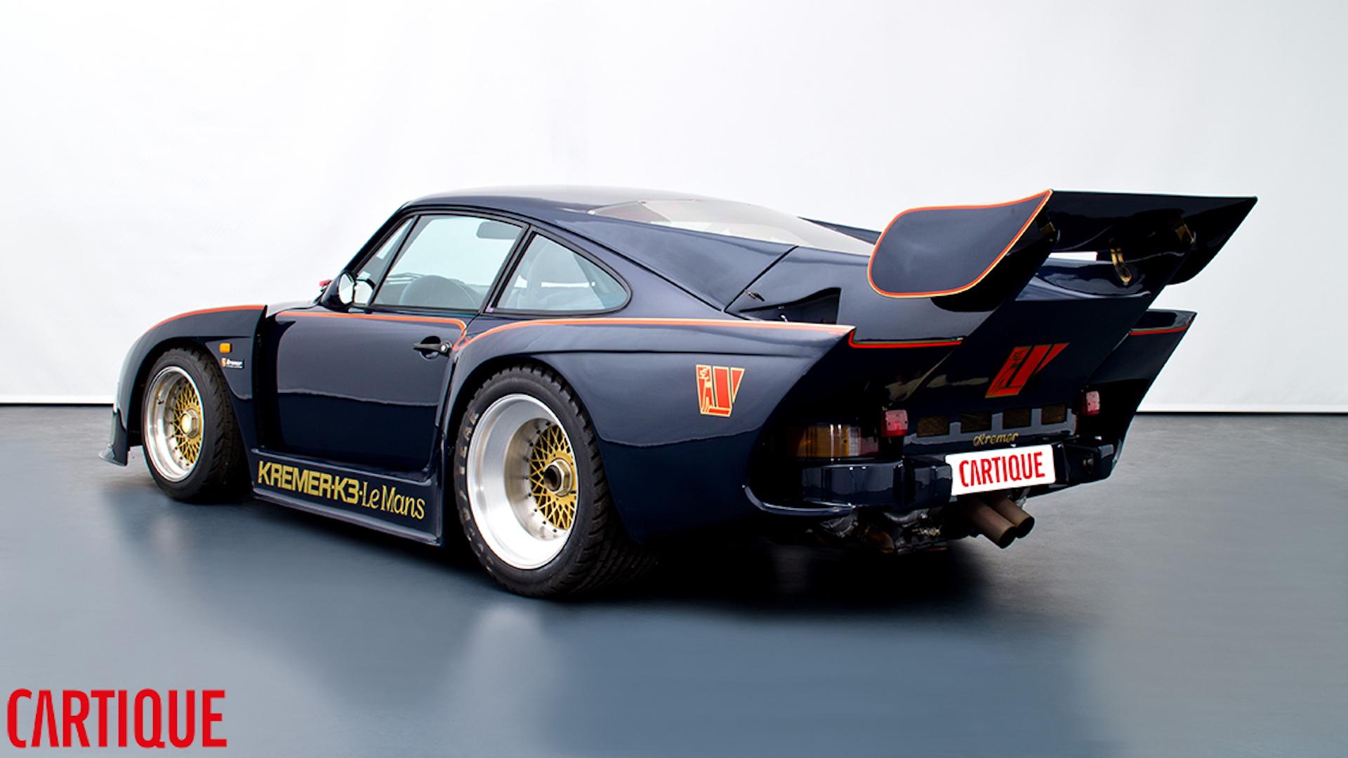 Street-legal Porsche 935