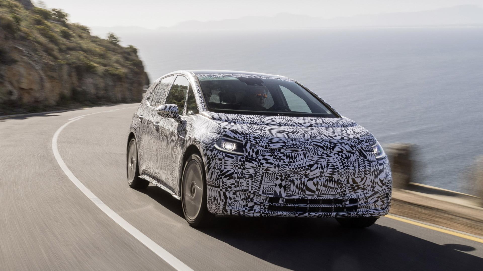 2020 Volkswagen ID 3 spy shots