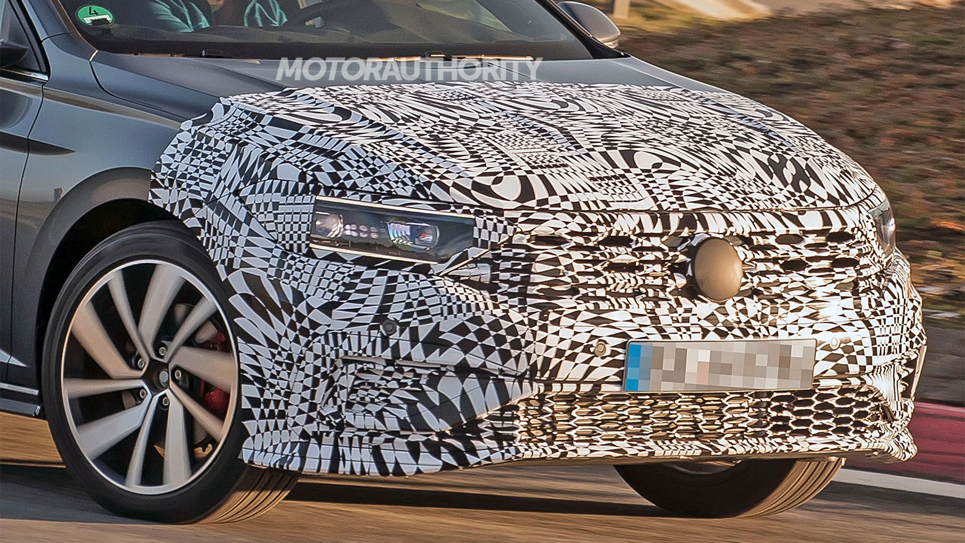2020 Volkswagen Jetta GLI spy shots - Image via S. Baldauf/SB-Medien