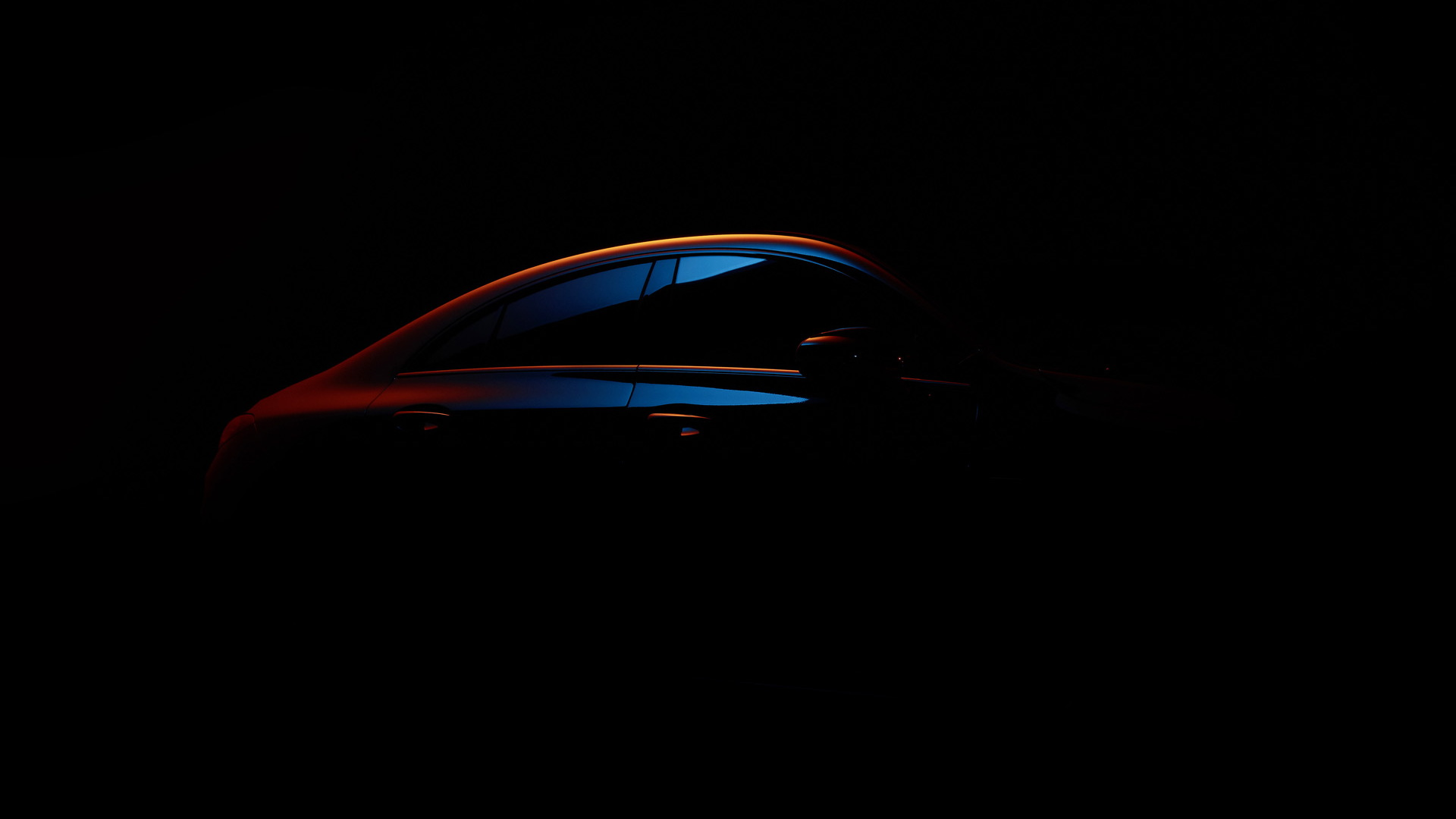 Teaser for 2020 Mercedes-Benz CLA debuting at 2019 CES