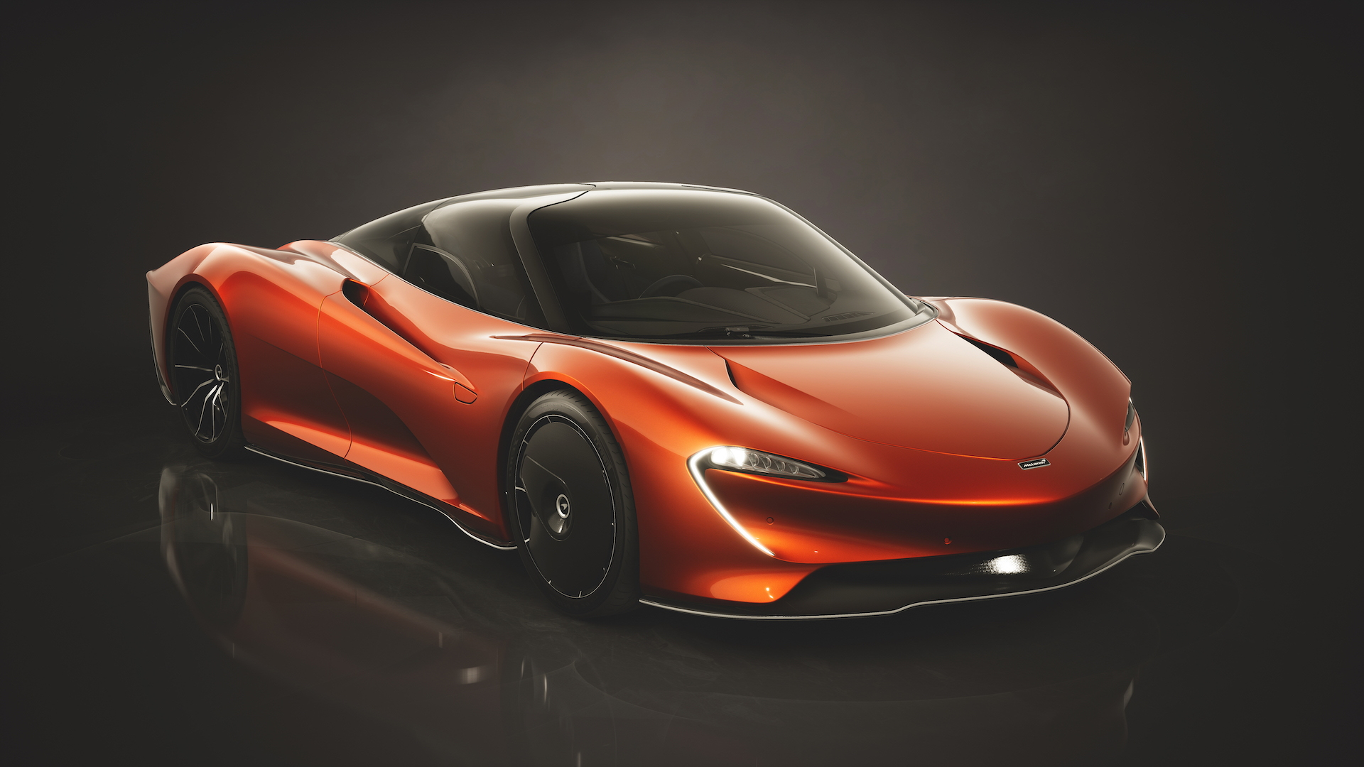 McLaren Speedtail design theme
