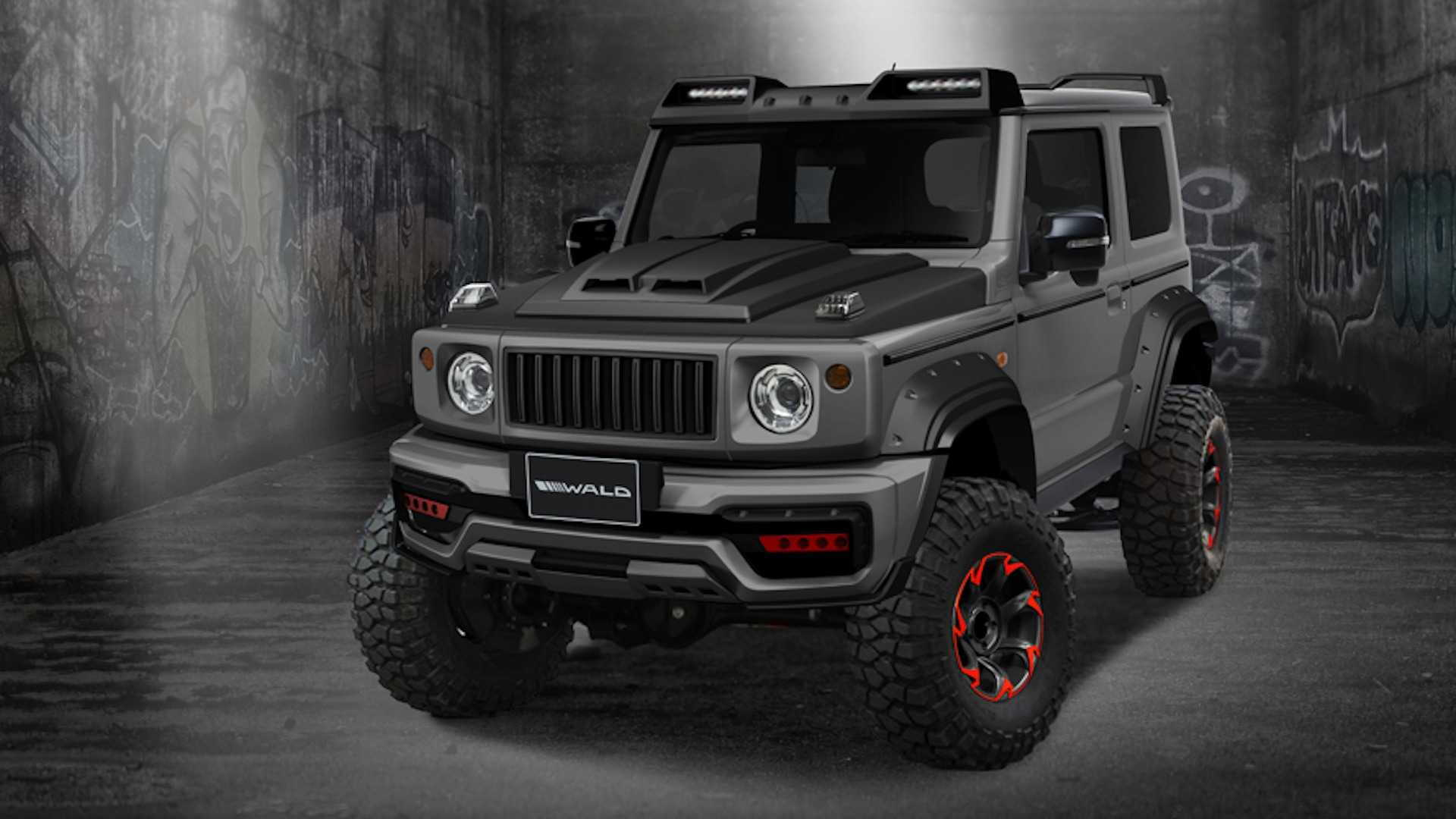 Suzuki Jimny Black Bison edition from Wald International